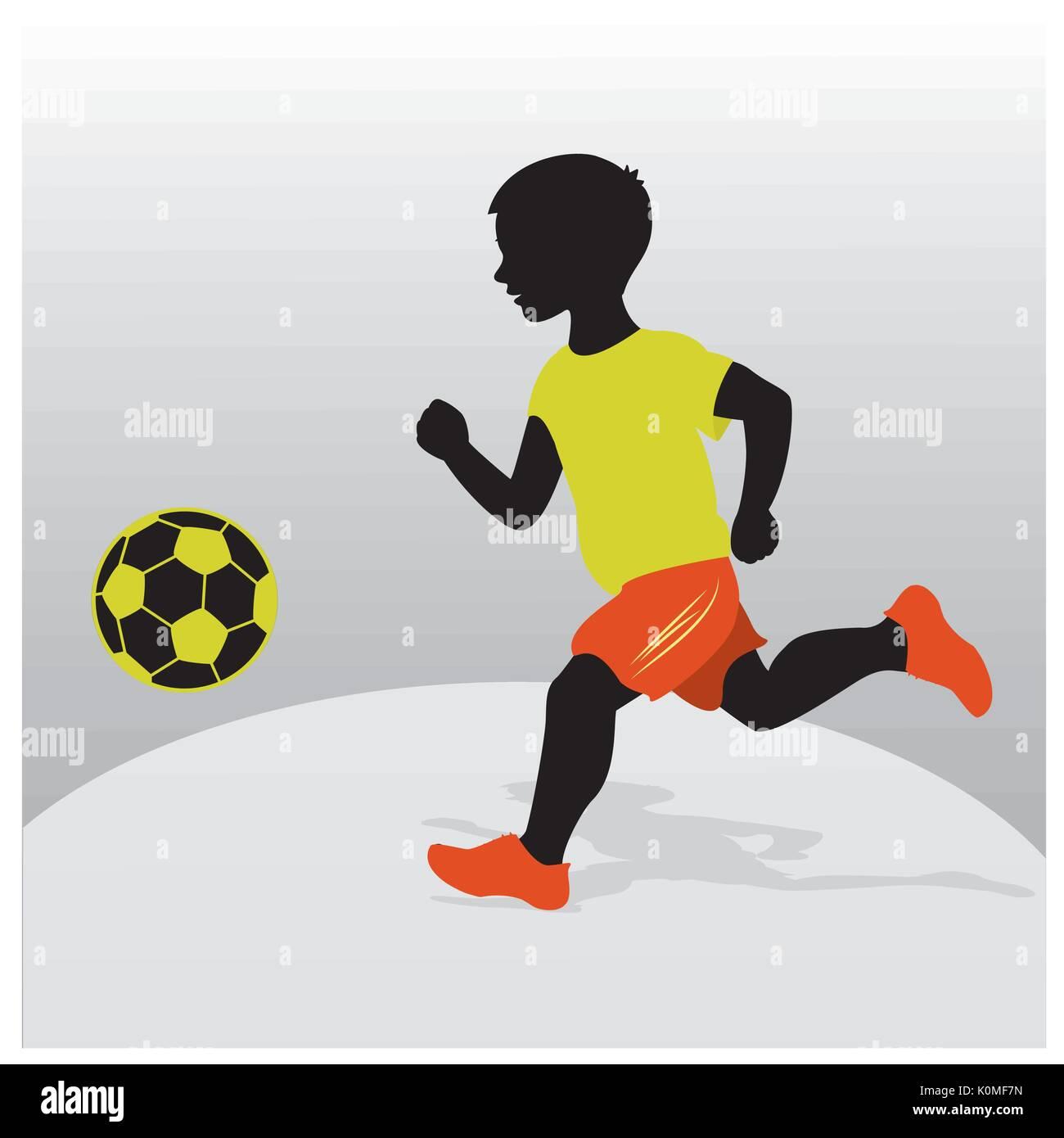 Footballer Stock Vector Images