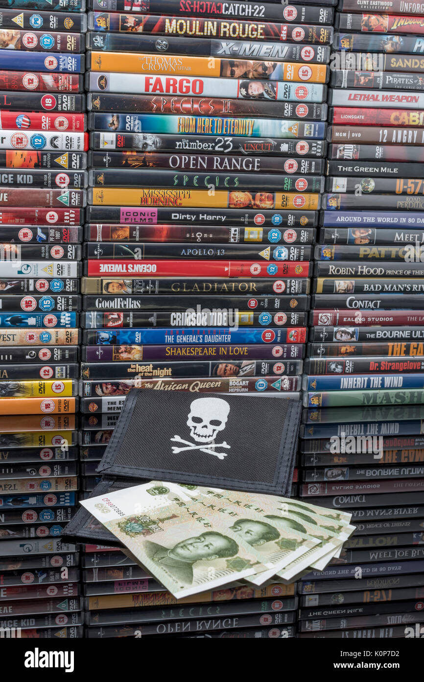 Pirated movie release types