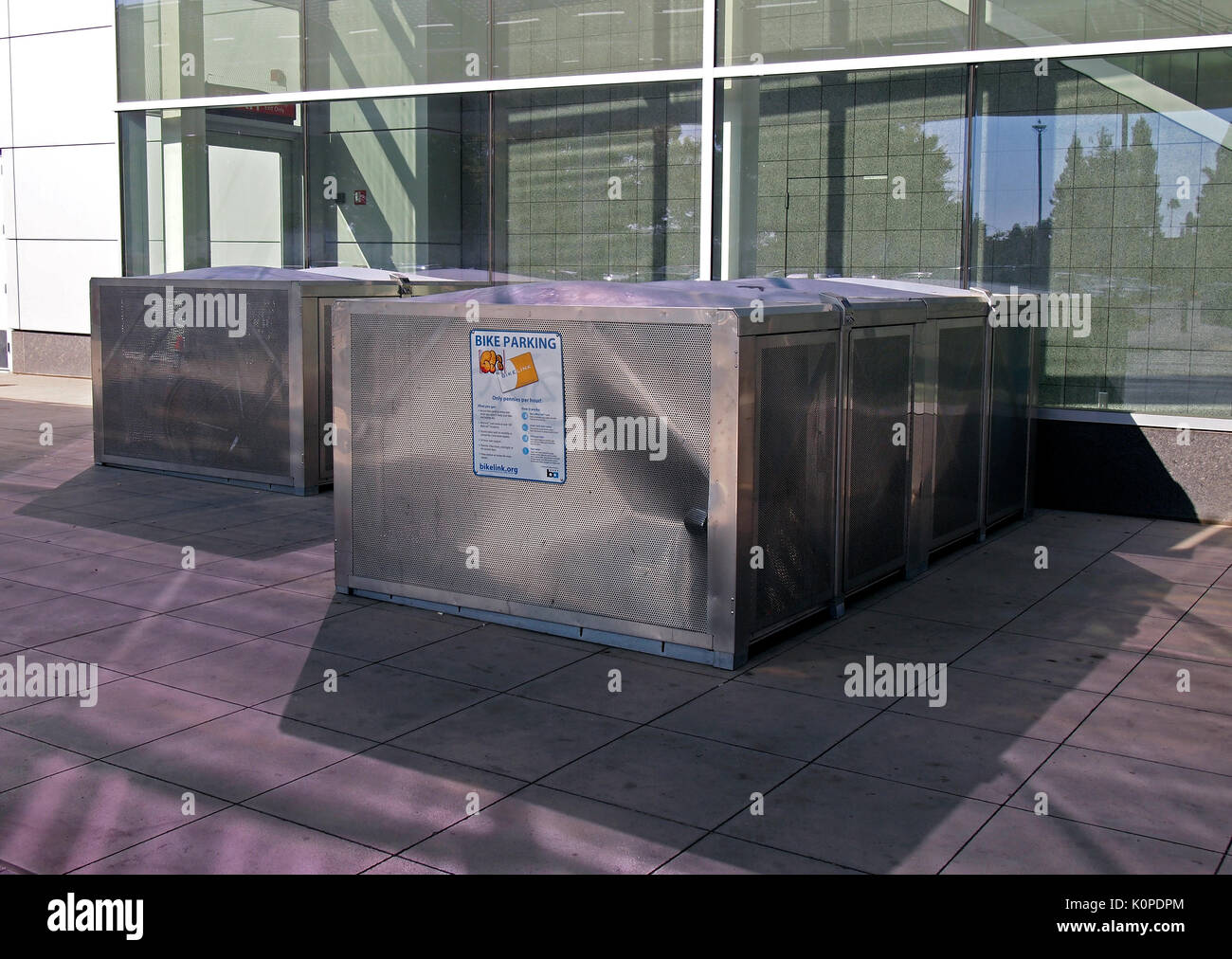 Bike Lockers Stock Photos Amp Bike Lockers Stock Images Alamy