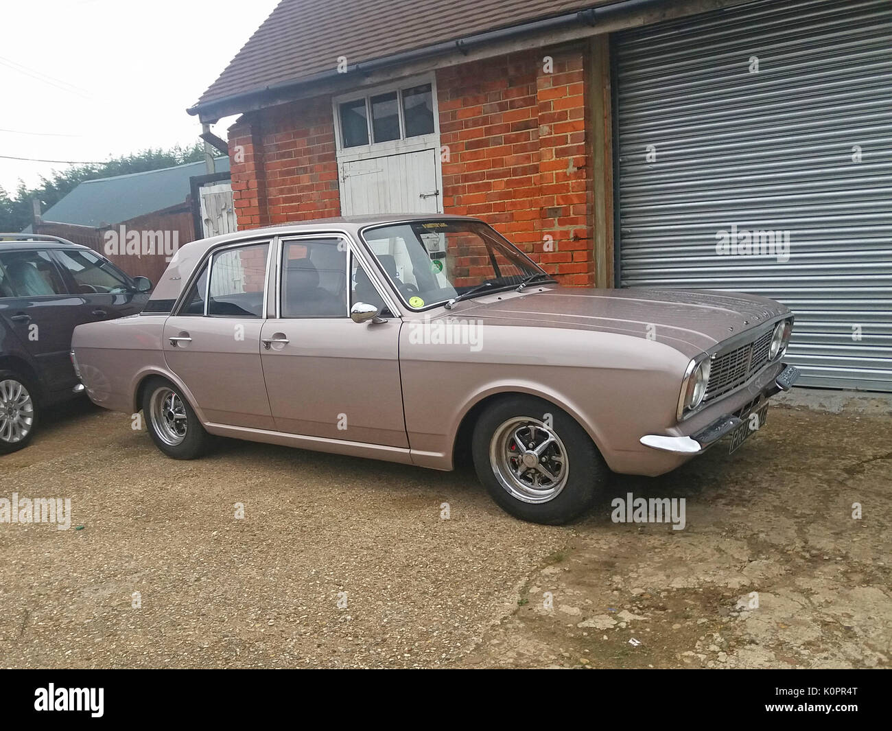 vintage ford cortina stock photos vintage ford cortina. Black Bedroom Furniture Sets. Home Design Ideas