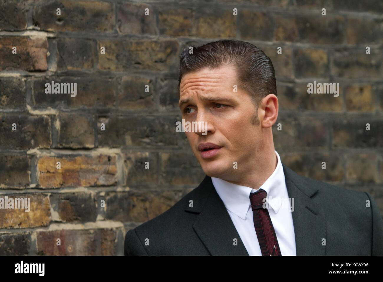 TOM HARDY LEGEND (2015) - Stock Image