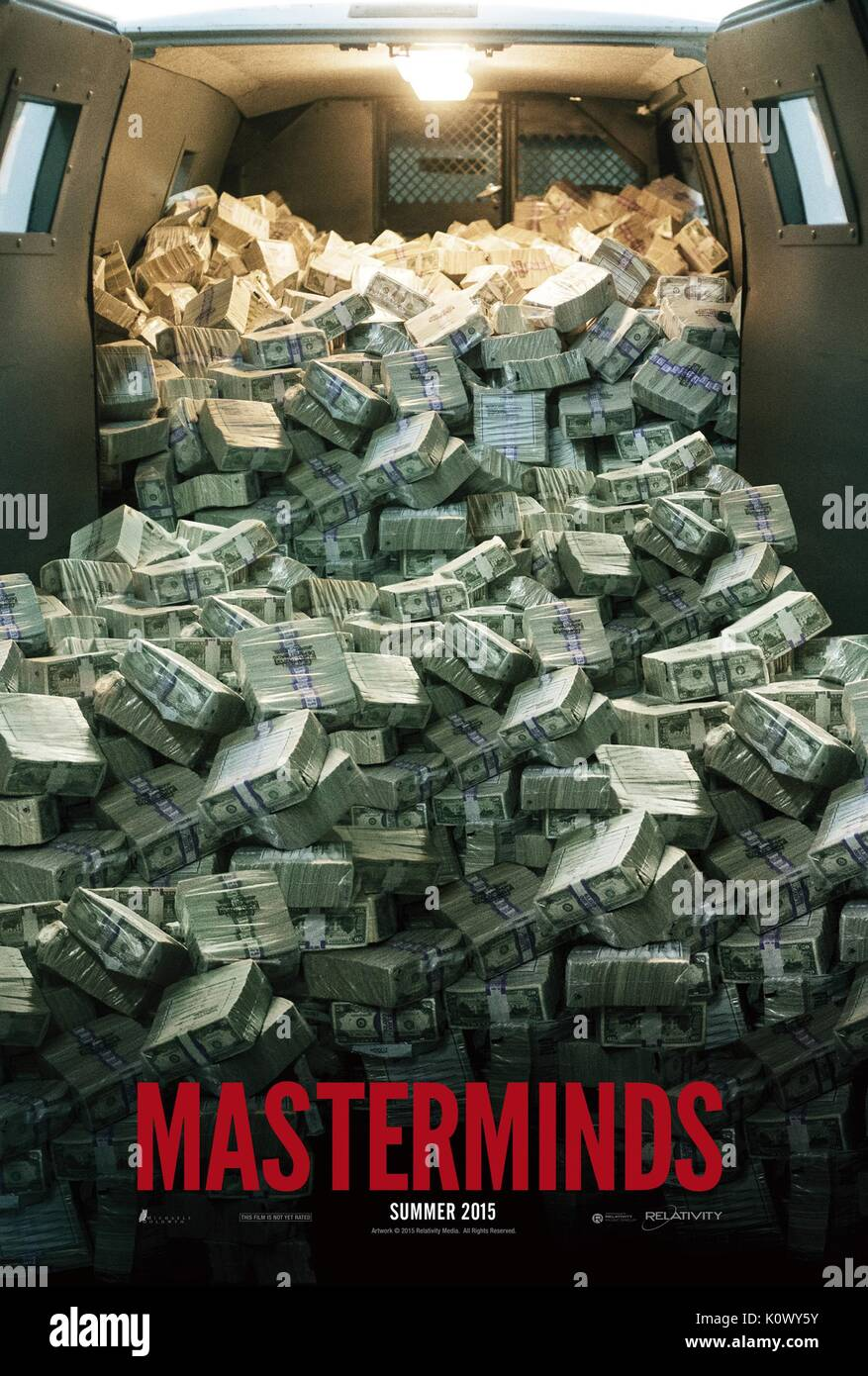 MOVIE POSTER MASTERMINDS (2015) - Stock Image