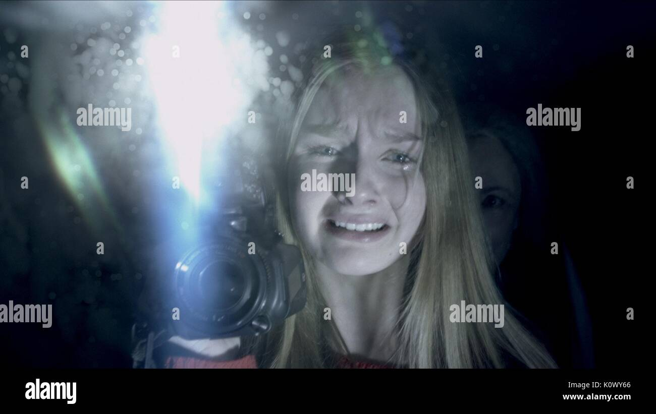 OLIVIA DEJONGE THE VISIT (2015) - Stock Image