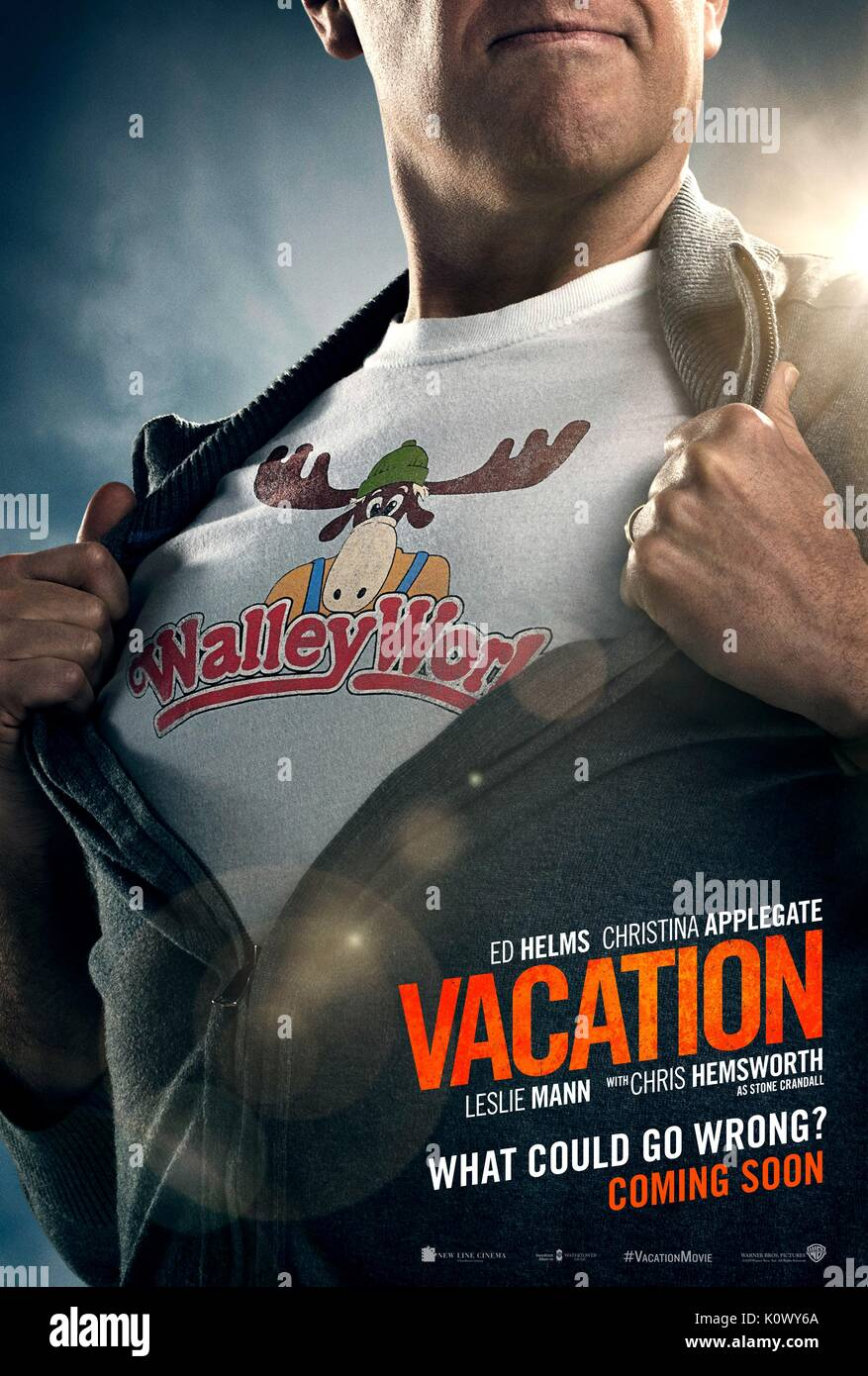 ED HELMS POSTER VACATION (2015) - Stock Image