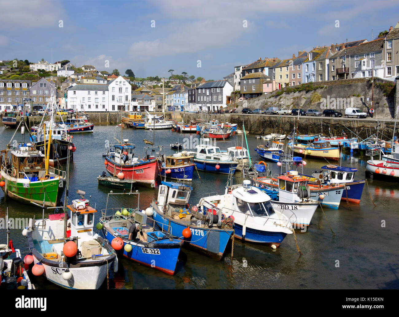 Pictures of mevagissey