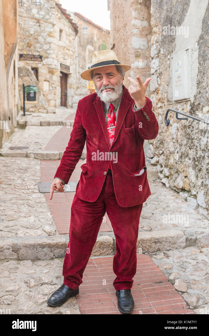 eccentric-older-man-in-eze-cote-dazur-france-K1M7Y1.jpg