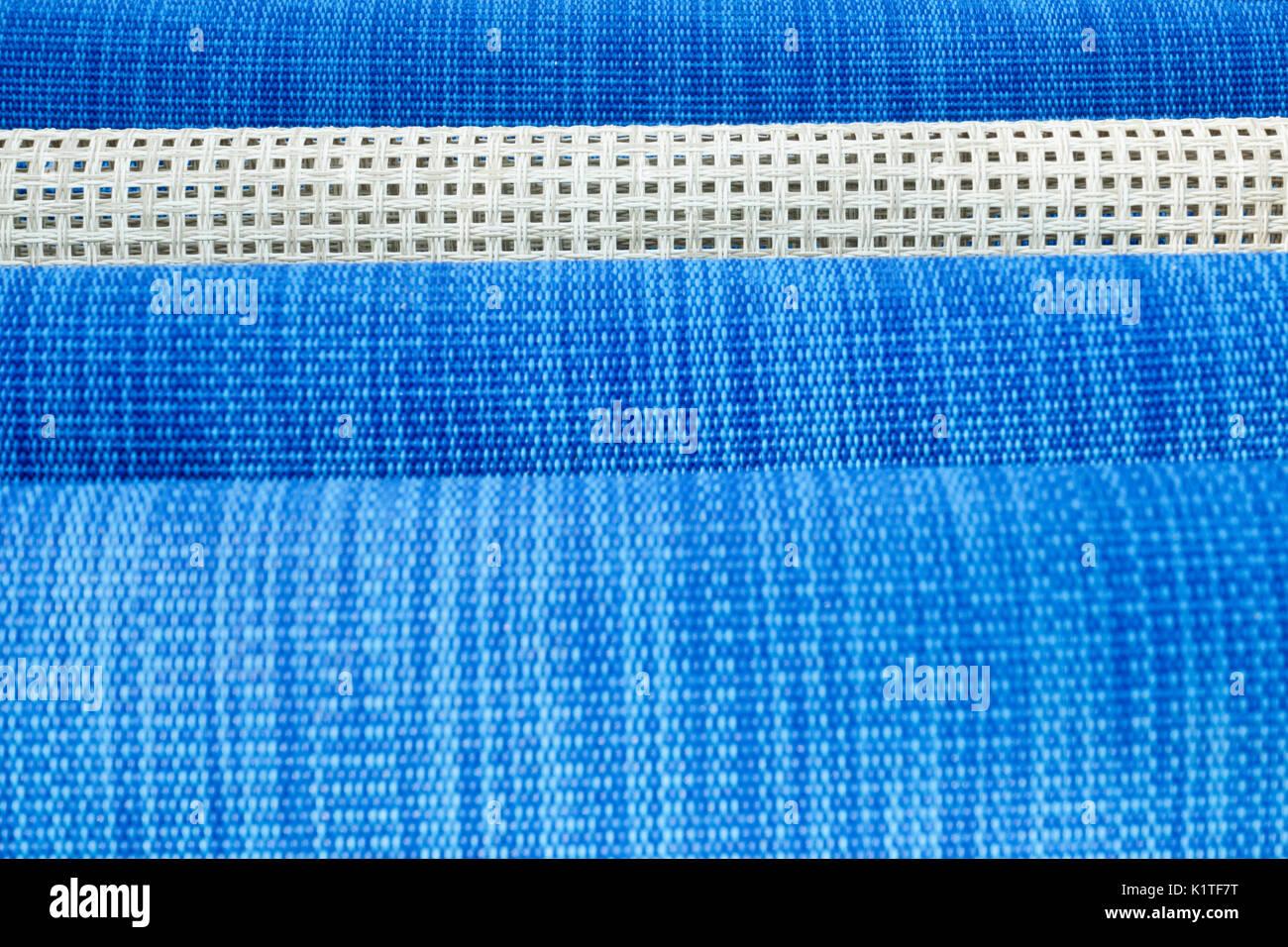 Close-up of sunbathing sundecks, textured background - Stock Image
