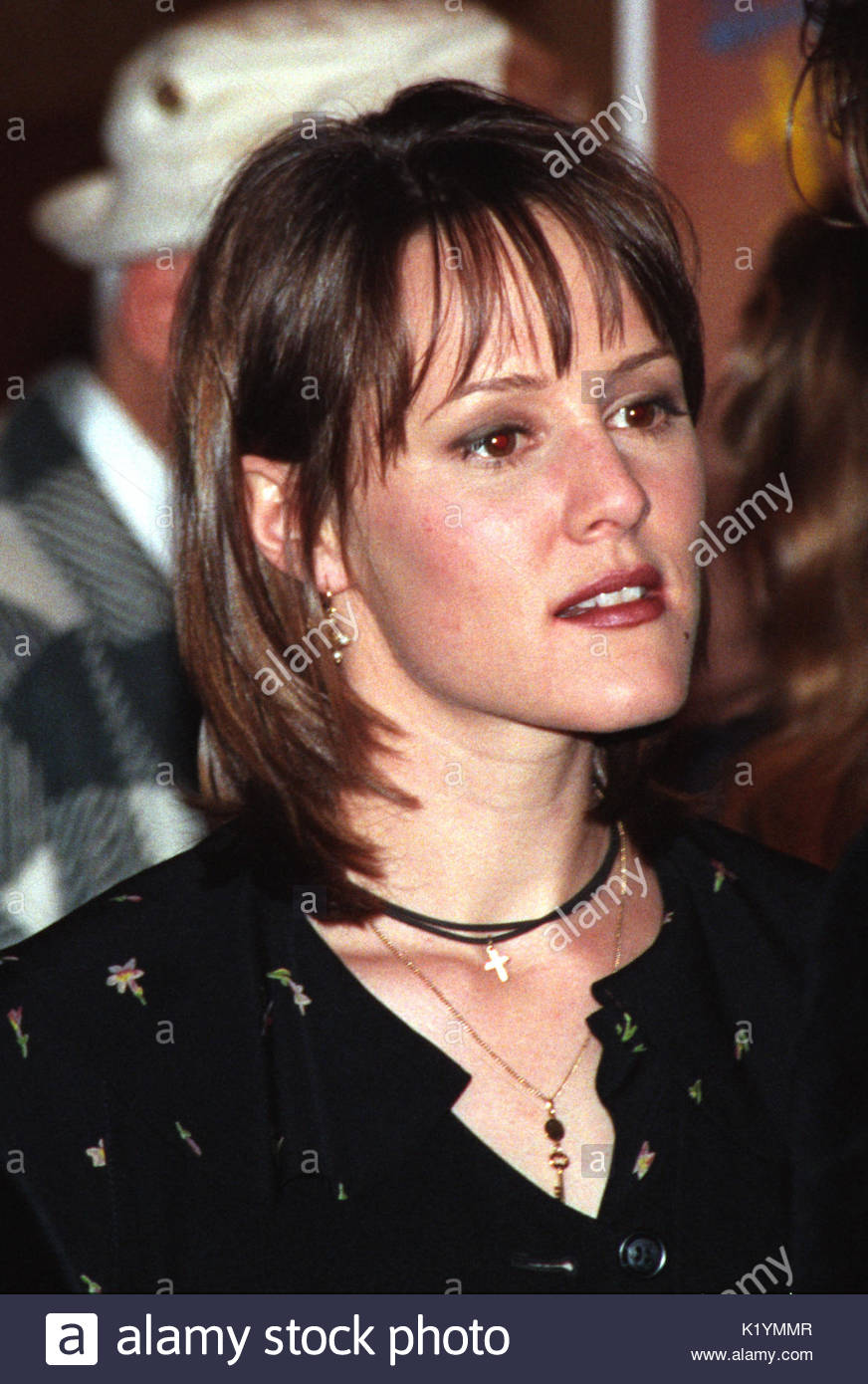 "Mary Stuart Masterson. Celebrities attend the ""Bennie & Joon"" film premiere and afterparty in Los Angeles. First Stock Photo"