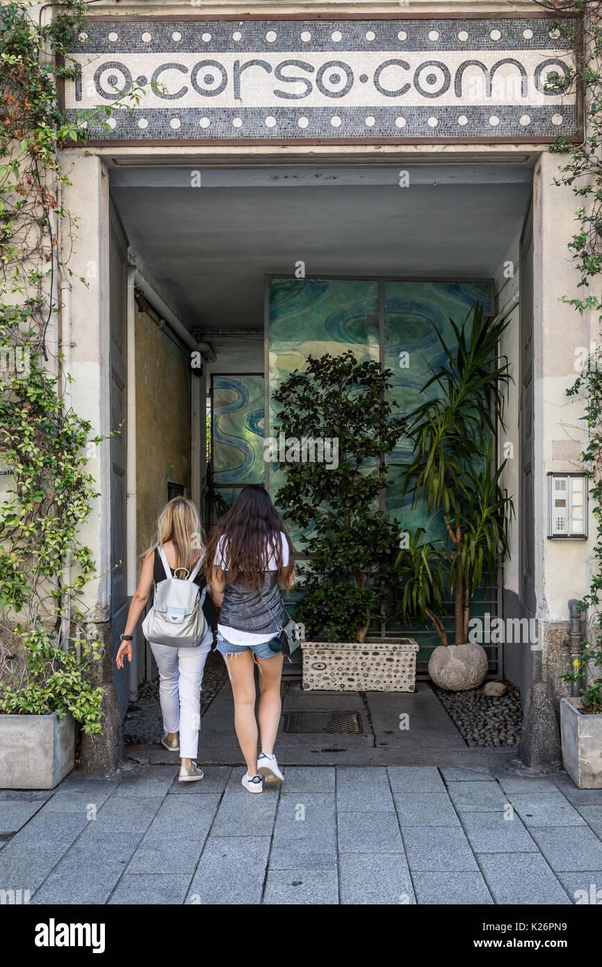 Corso Como 10 , Milano,Italy - Stock Image