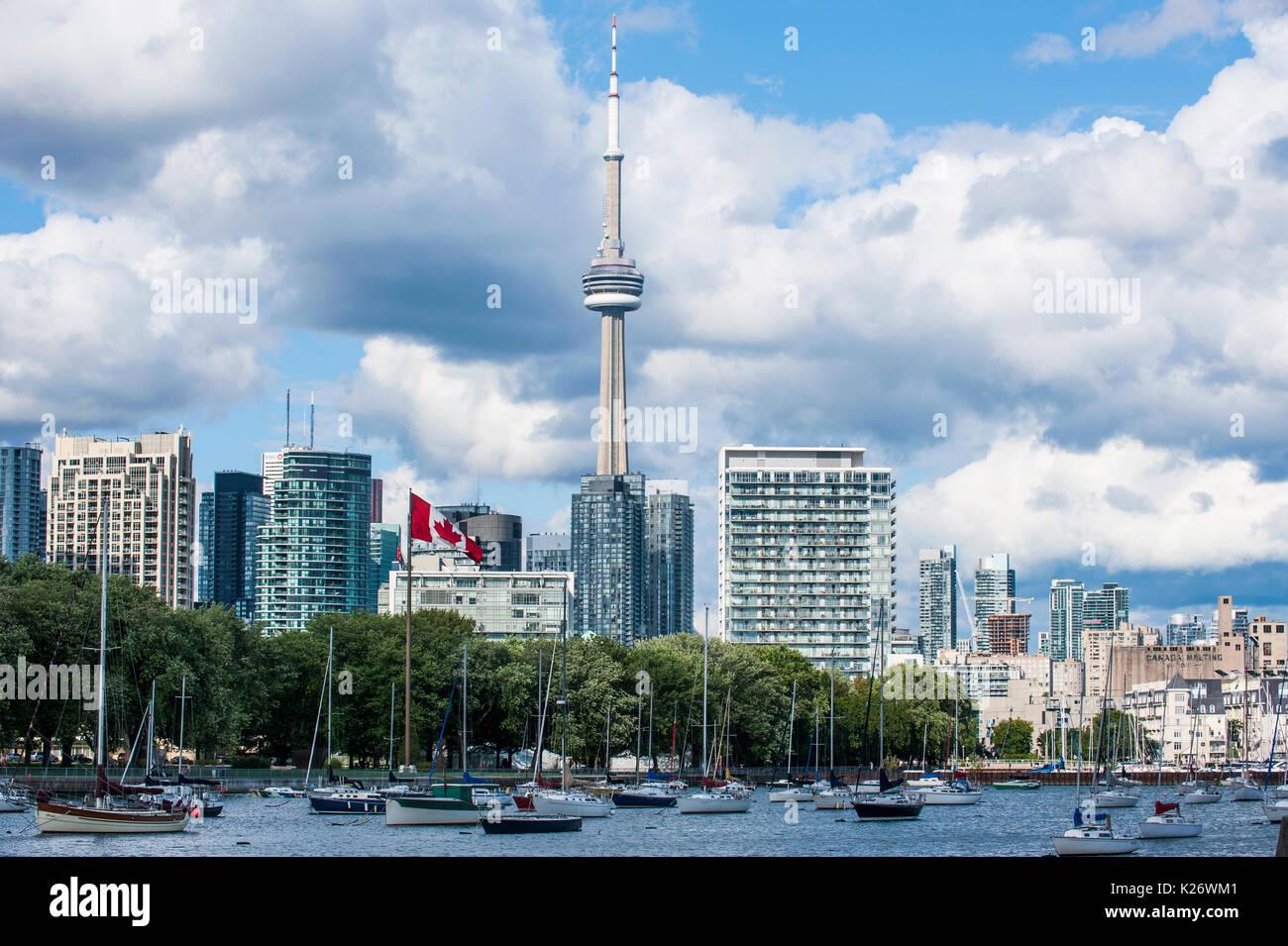 Skyline, Toronto, Ontario, Canada - Stock Image