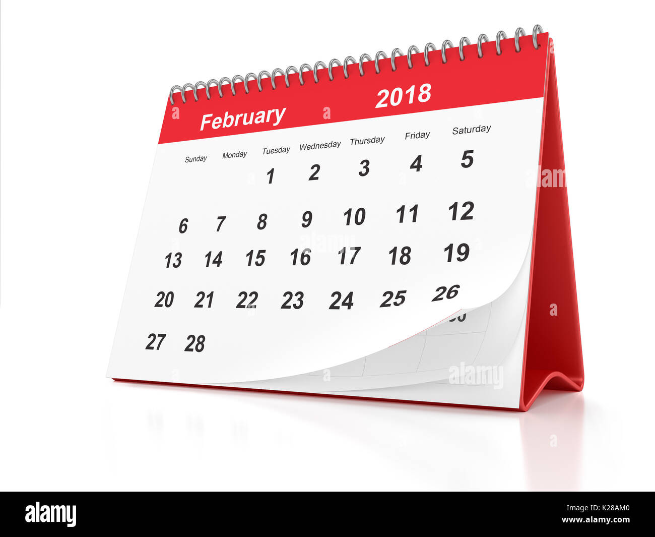Calendar 2018 Stock Photos Amp Calendar 2018 Stock Images