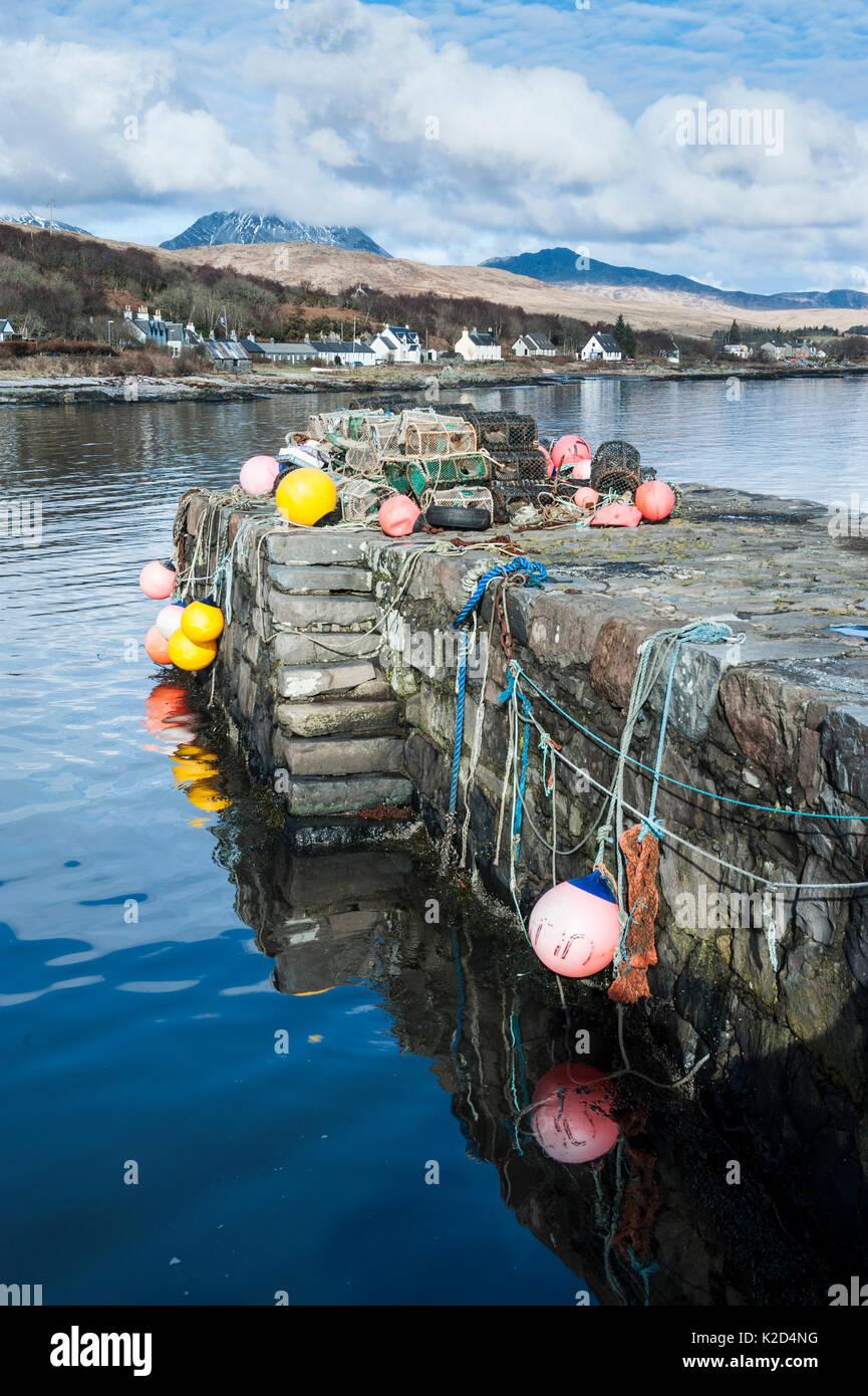 Craighouse Isle Of Jura Scotland Stock Photos & Craighouse Isle Of Jura Scotland Stock Images ...