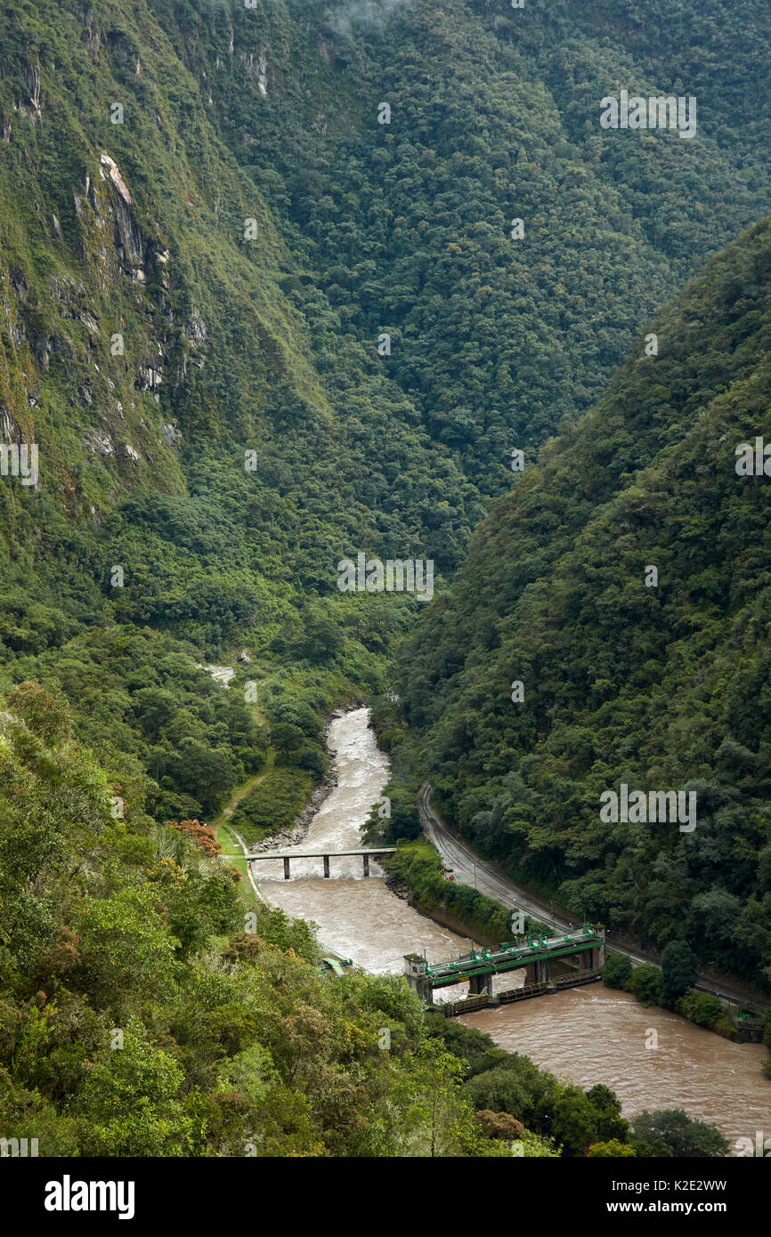 Urubamba River Inka Bridge Stock Phot...