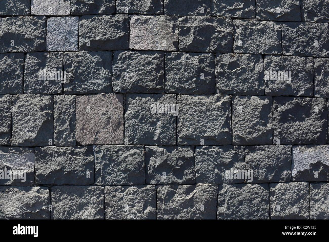 Basalt Stone Wall : Basalt blocks stock photos images