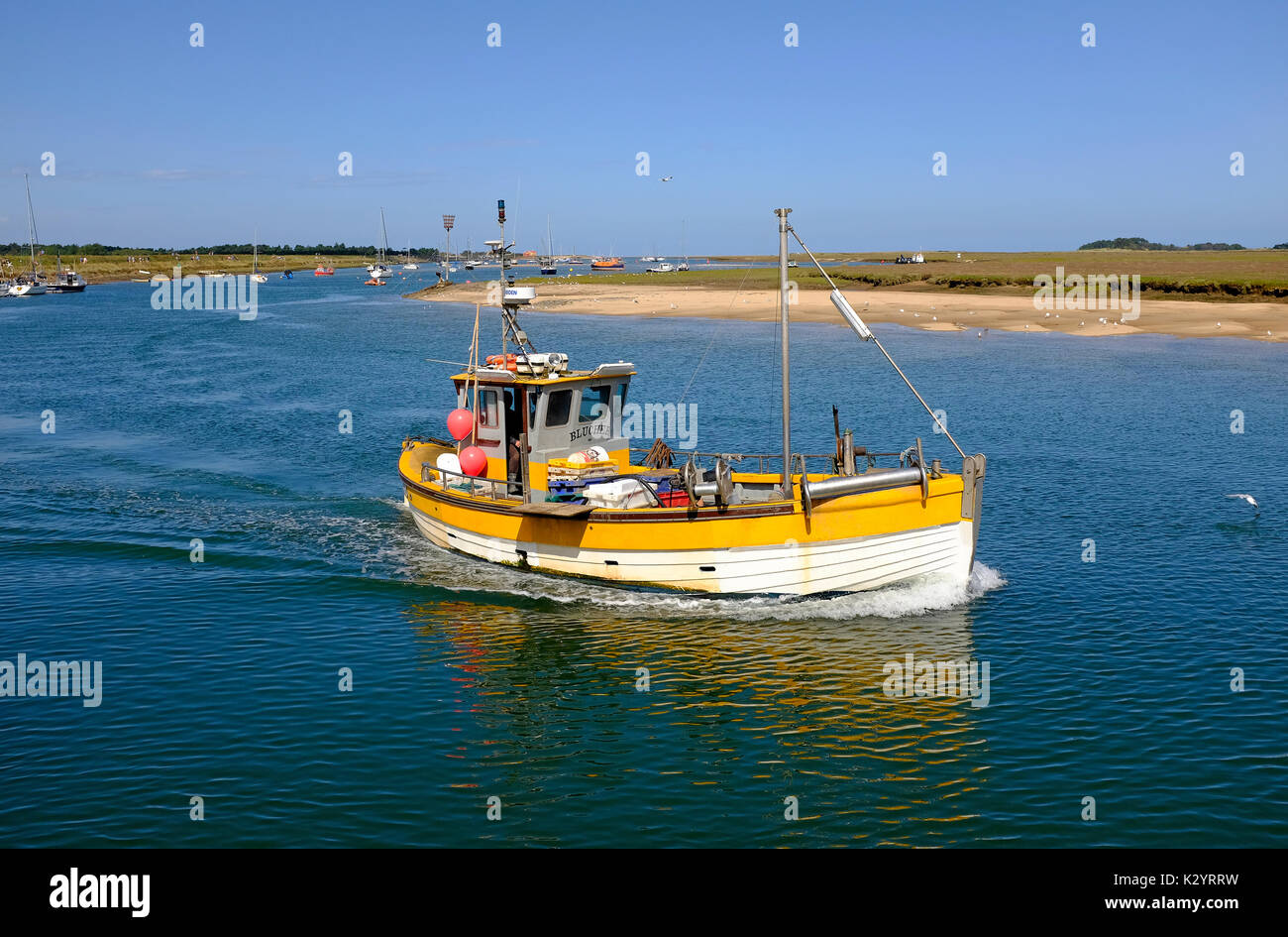 Fishing vessel north sea catch stock photos fishing for Sea fishing boats