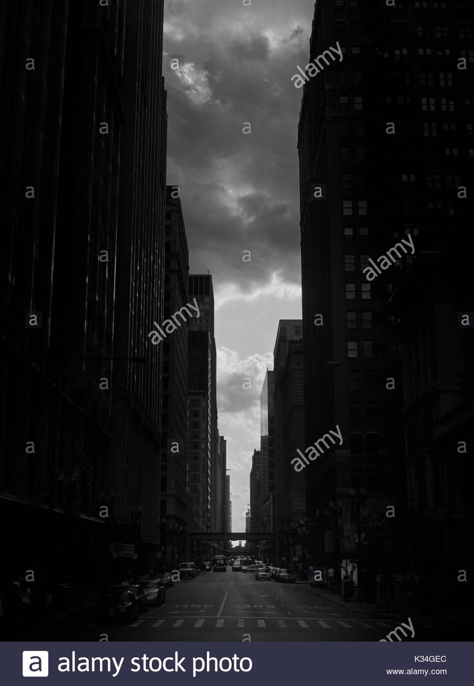 Chicago Street Scene Stock Photos Amp Chicago Street Scene