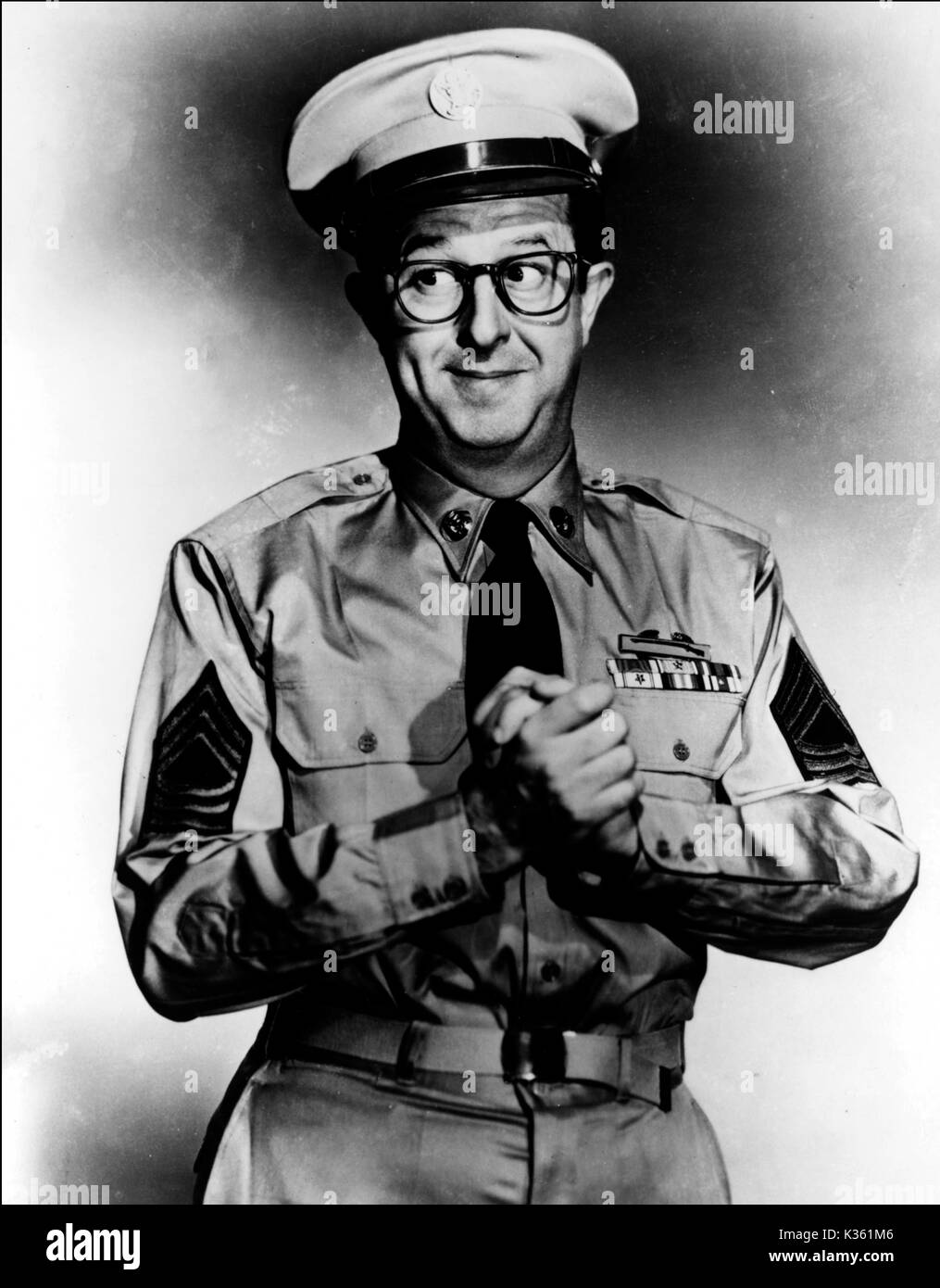 THE PHIL SILVERS SHOW PHIL SILVERS as sergeant bilko - Stock Image