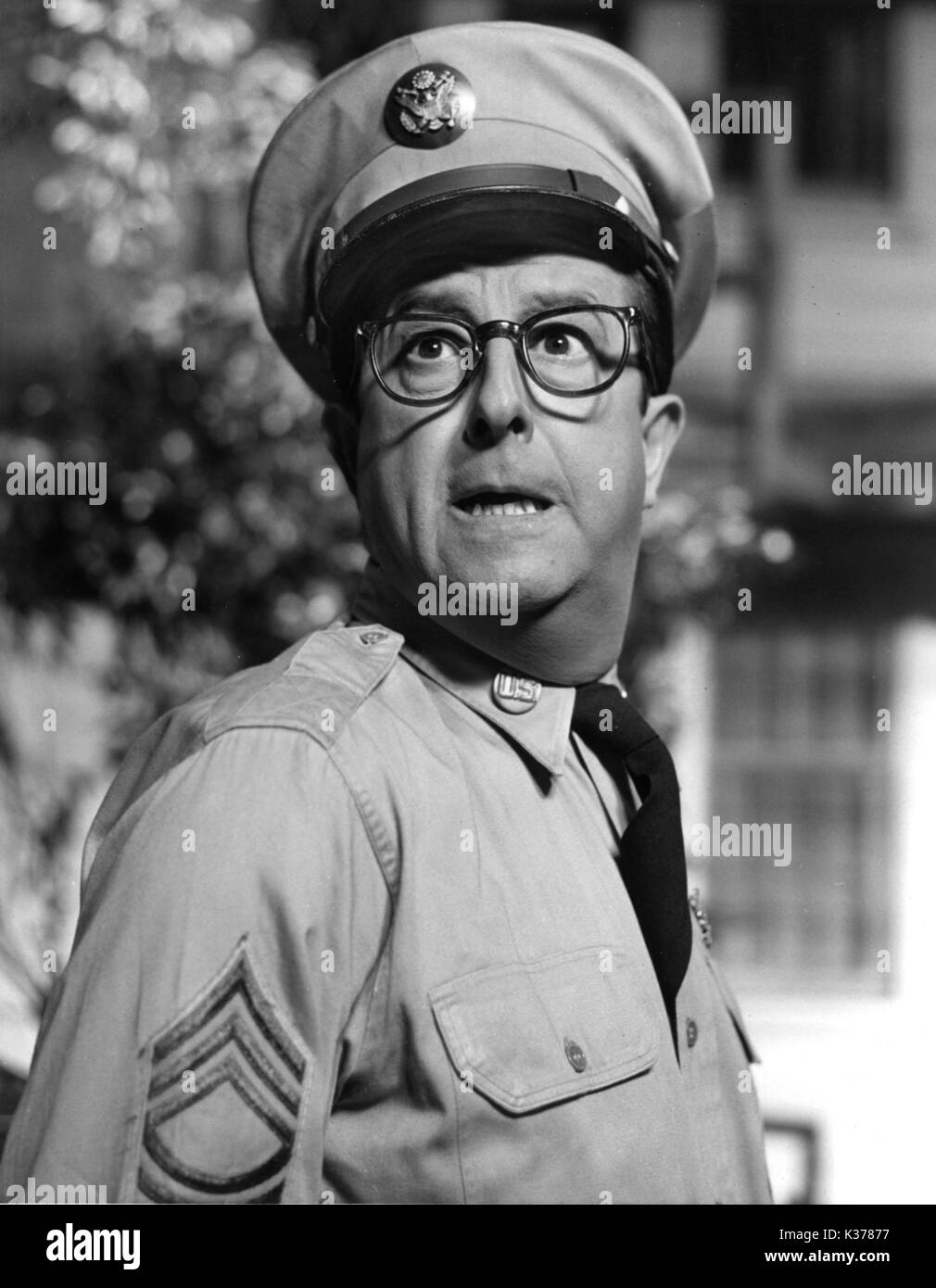 SERGEANT BILKO PHIL SIVERS - Stock Image