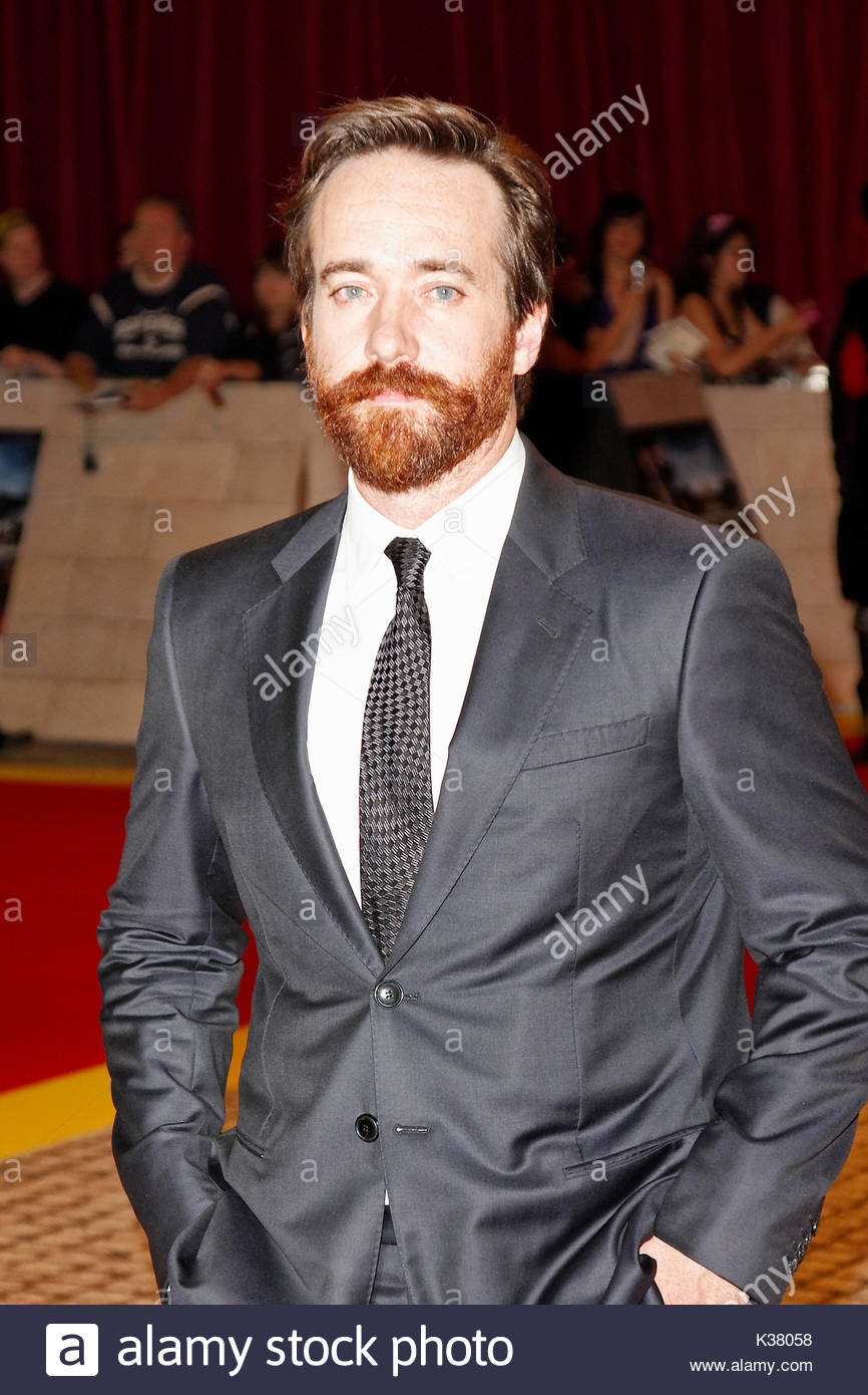 Matthew Macfadyen. Red carpet arrivals at 'The Three Musketeers' world premiere, London. - Stock Image