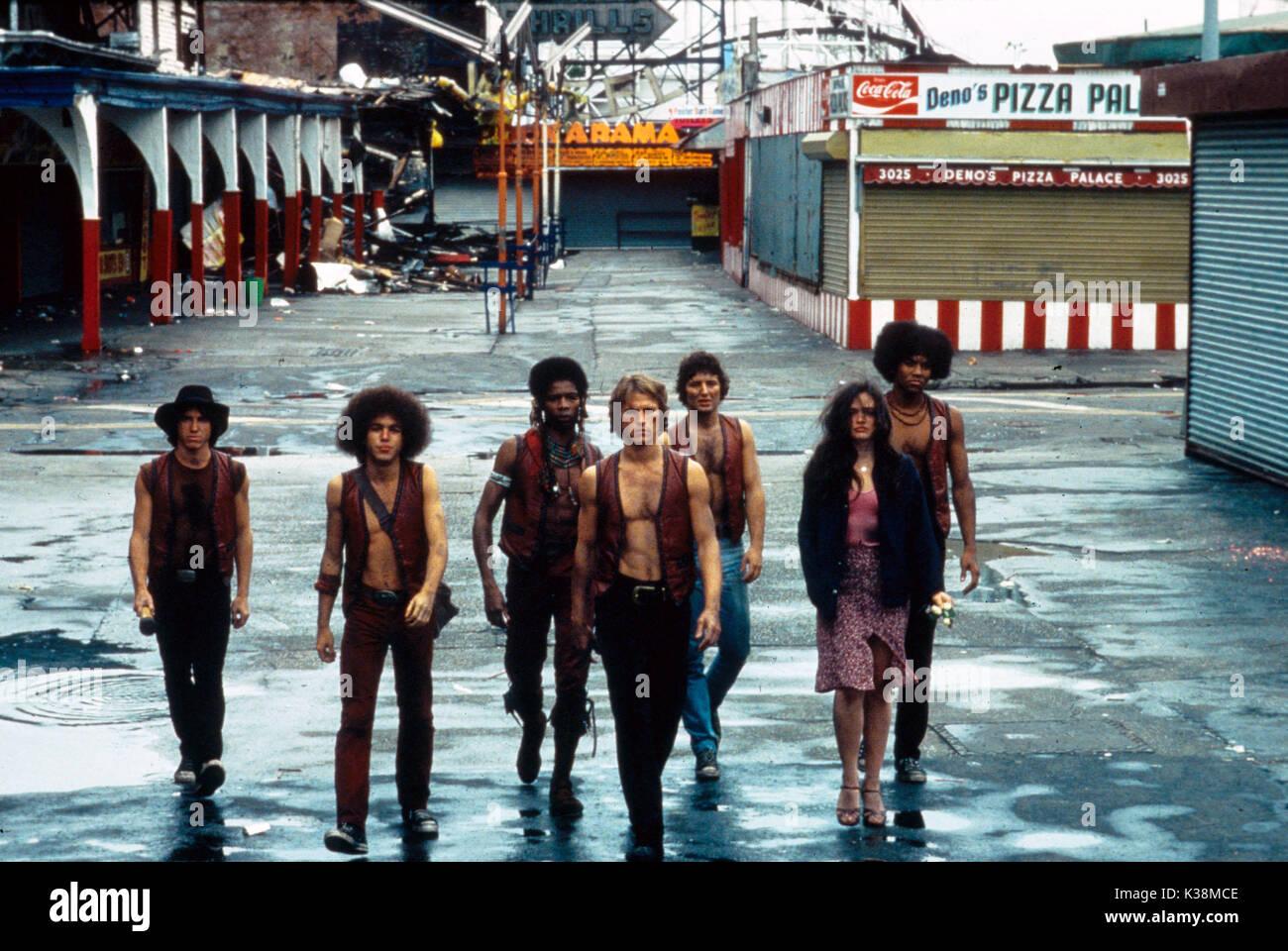 THE WARRIORS [?], [?], DAVID HARRIS, MICHAEL BECK, [?], DEBORAH VAN VALKENBURGH, BRIAN TYLER - Stock Image