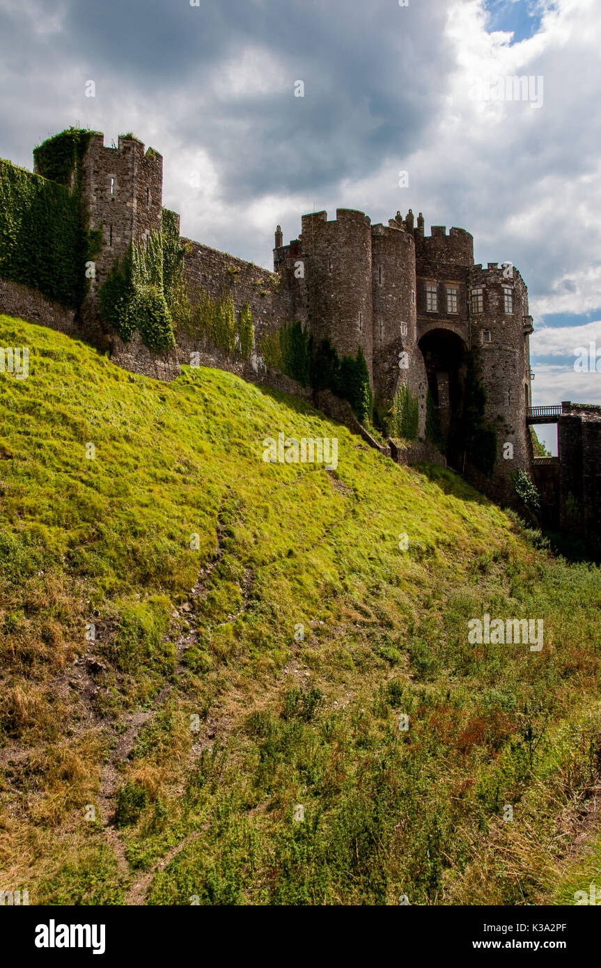 Moat And Bailey Stock Photos Moat And Bailey Stock