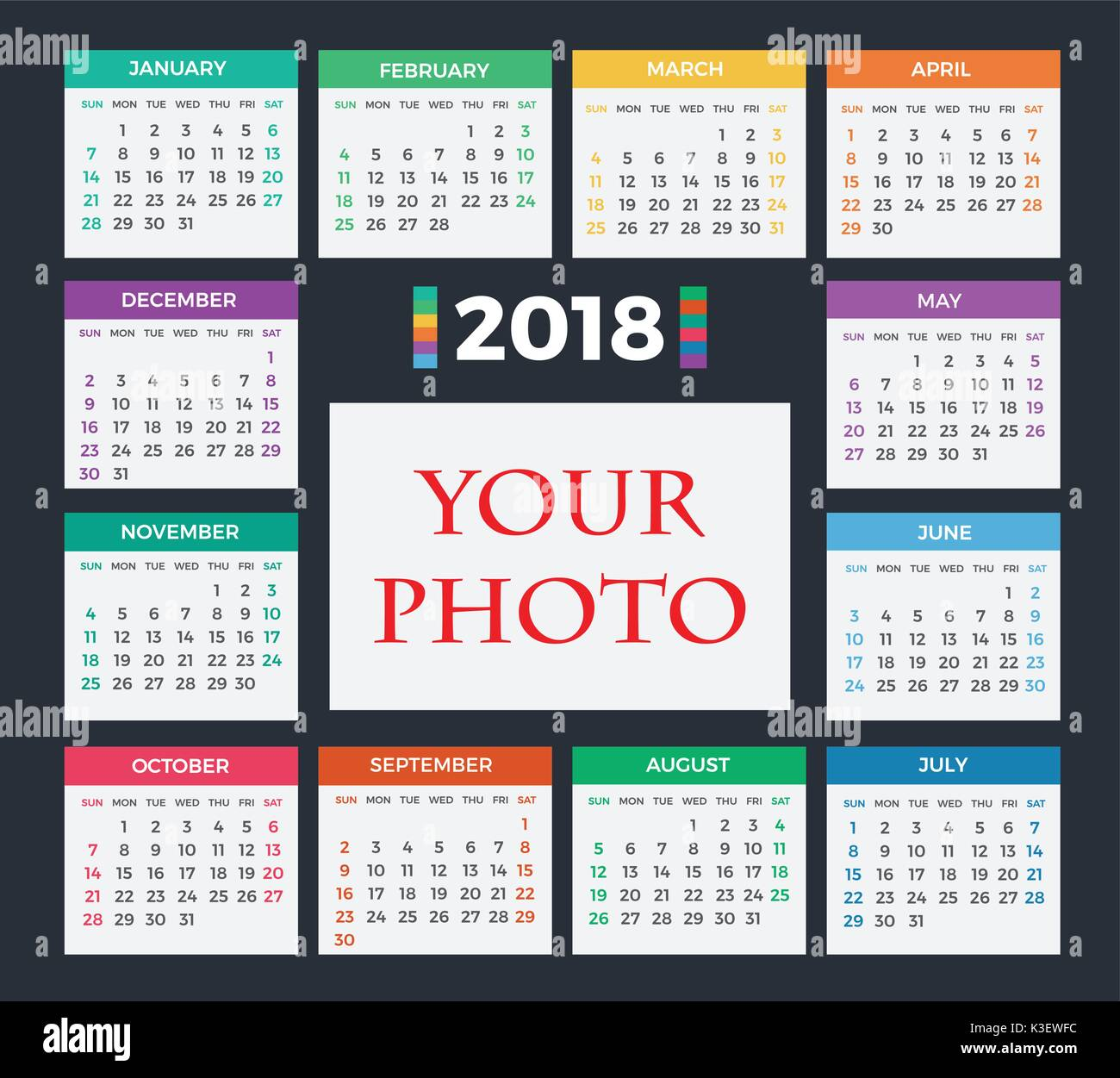 Calendar Background Vector : Calendar simple vector stock photos