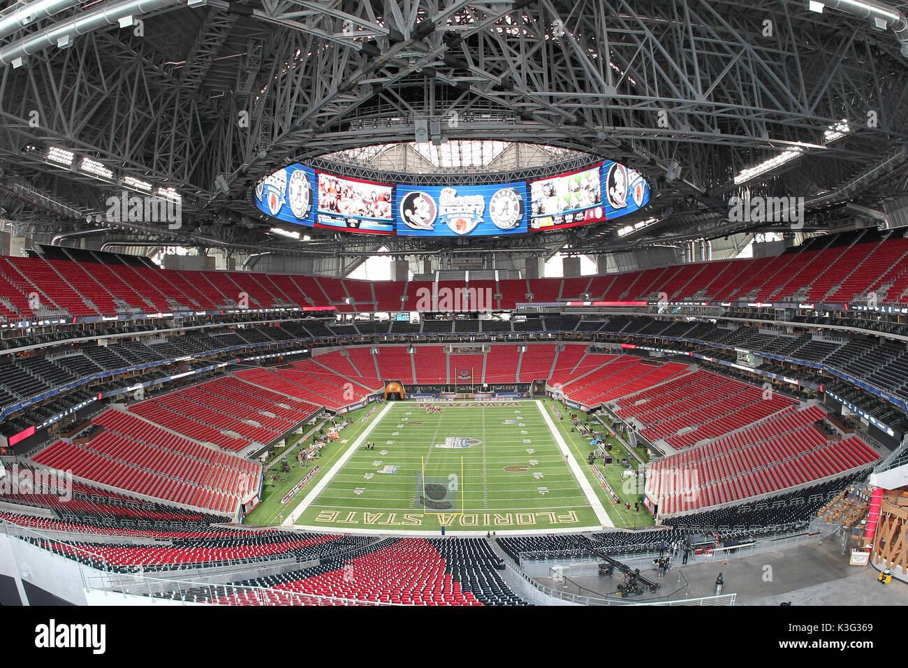 Mercedes benz stadium stock photos mercedes benz stadium for Atlanta ga mercedes benz stadium