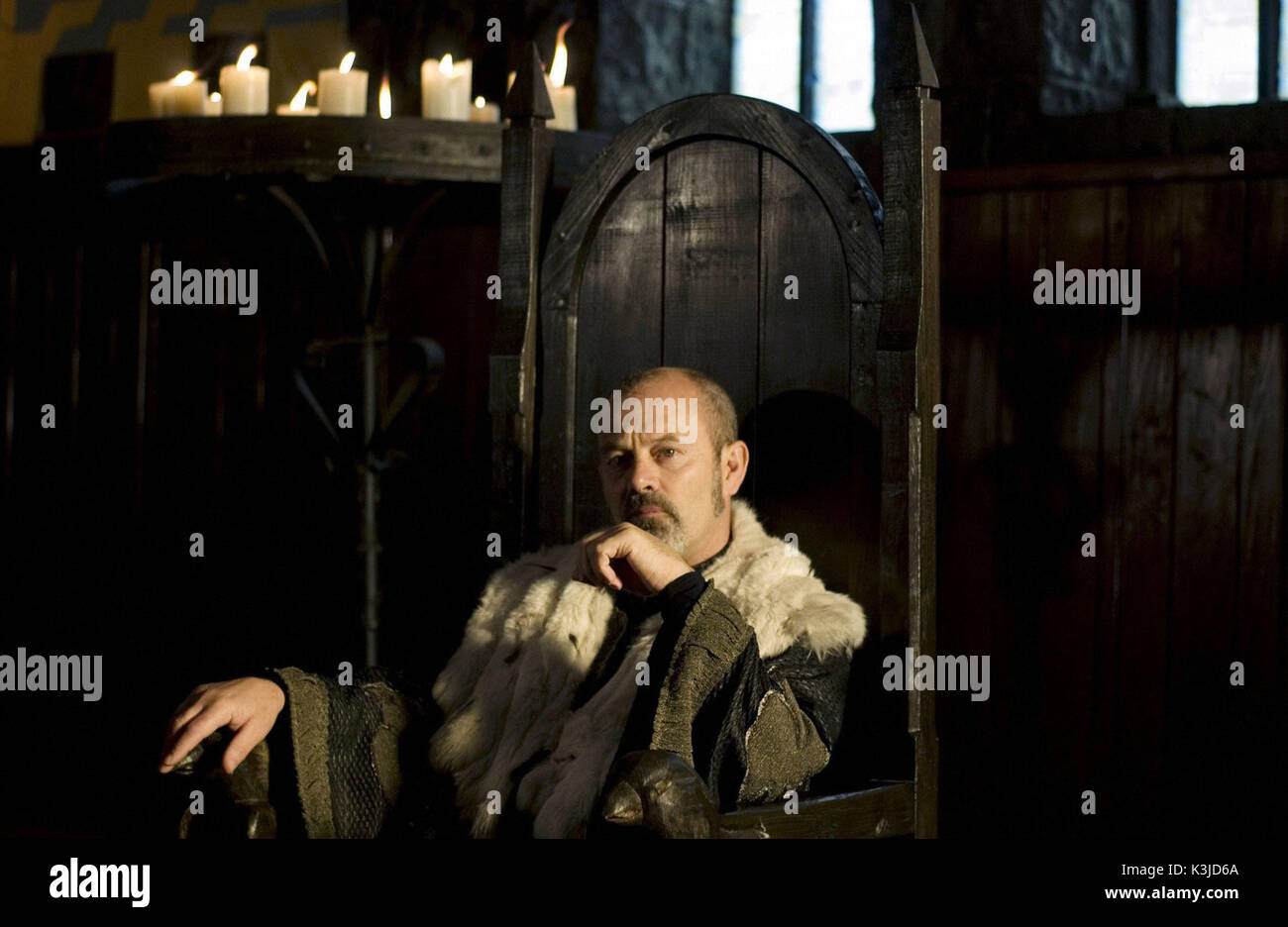 ROBIN HOOD KEITH ALLEN as Sheriff of Nottingham ROBIN HOOD     Date: 2006 - Stock Image