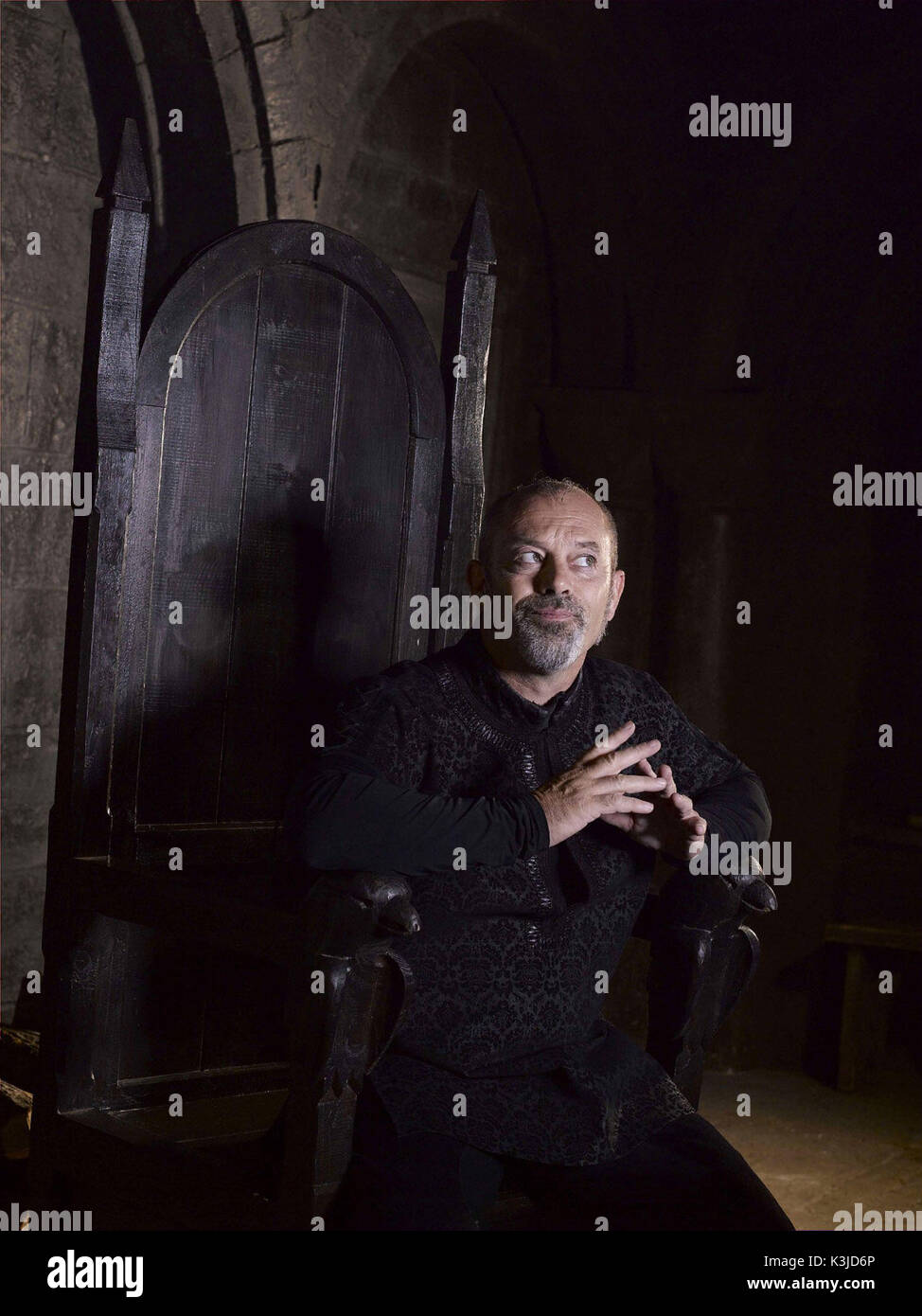 ROBIN HOOD KEITH ALLEN as the sheriff of Nottingham ROBIN HOOD     Date: 2006 - Stock Image