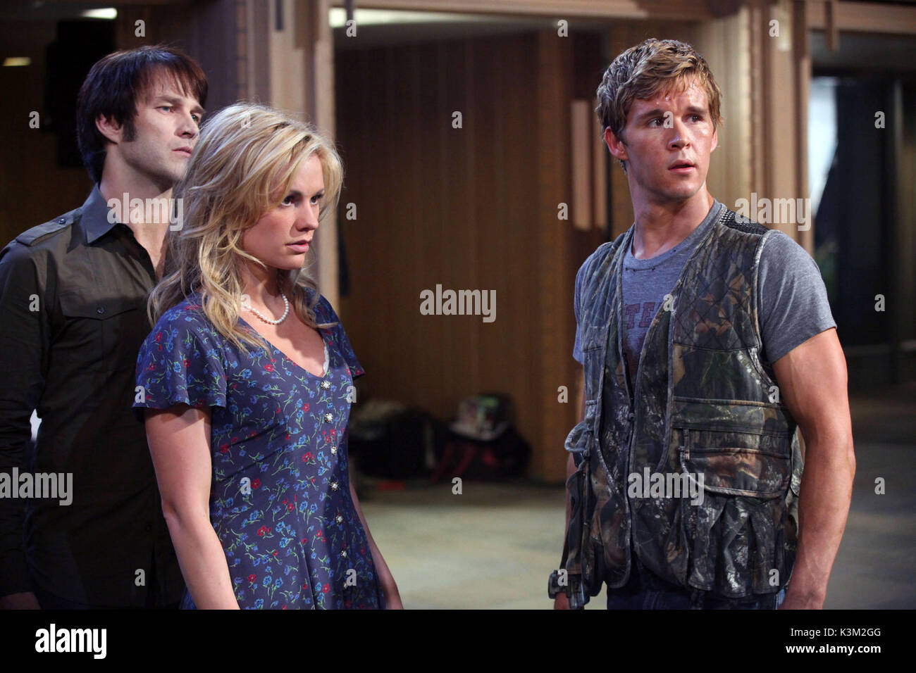 TRUE BLOOD Series,2 / Episode,8 / Timebomb STEPHEN MOYER as Bill Compton, ANNA PAQUIN as Sookie Stackhouse, RYAN - Stock Image