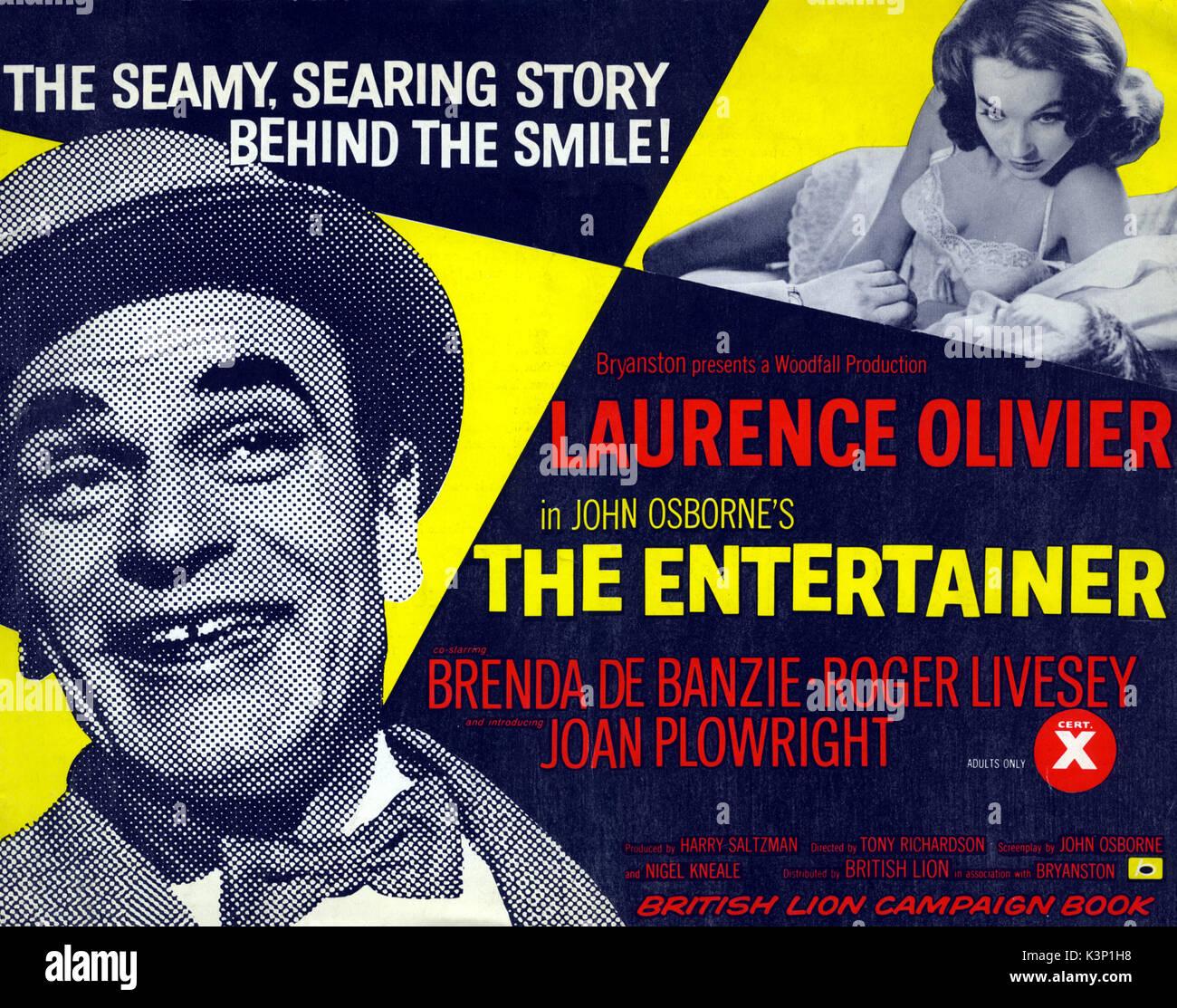Essays the entertainer john osborne