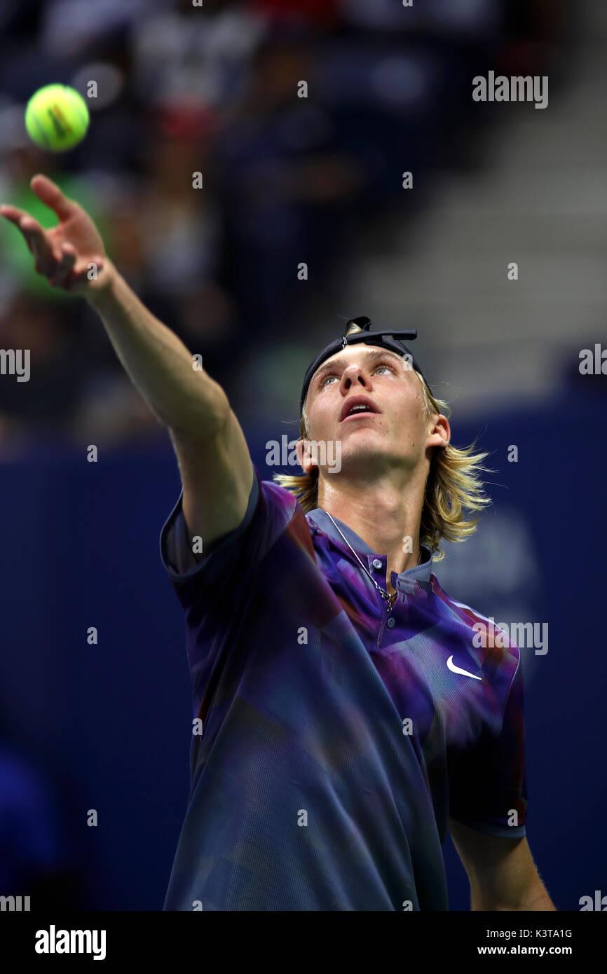 New York, USA. 03rd Sep, 2017. New York, United States. 03rd Sep, 2017. US Open Tennis: New York, 3 September, 2017 - Stock Image