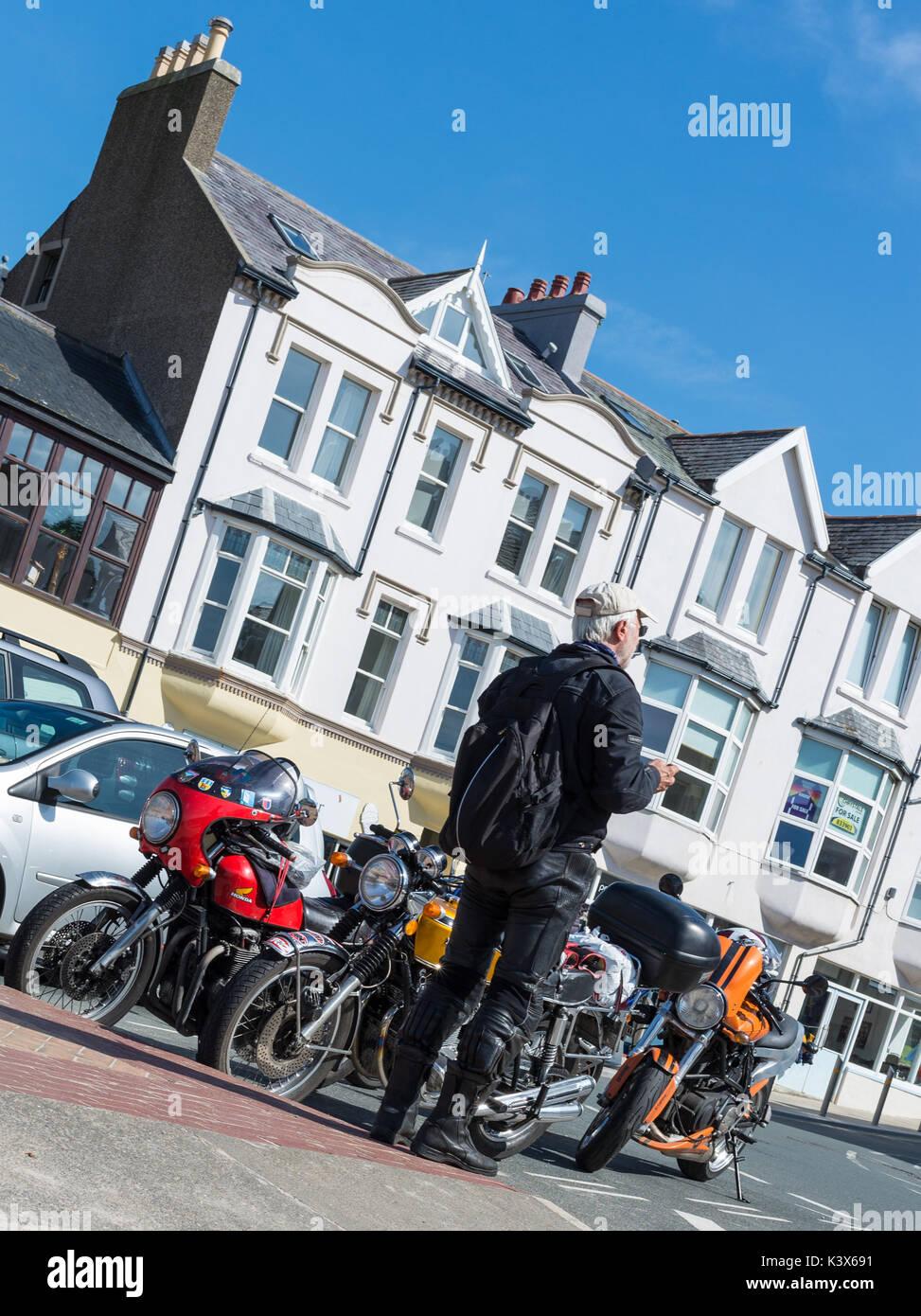 motorbiker stock photos motorbiker stock images alamy. Black Bedroom Furniture Sets. Home Design Ideas