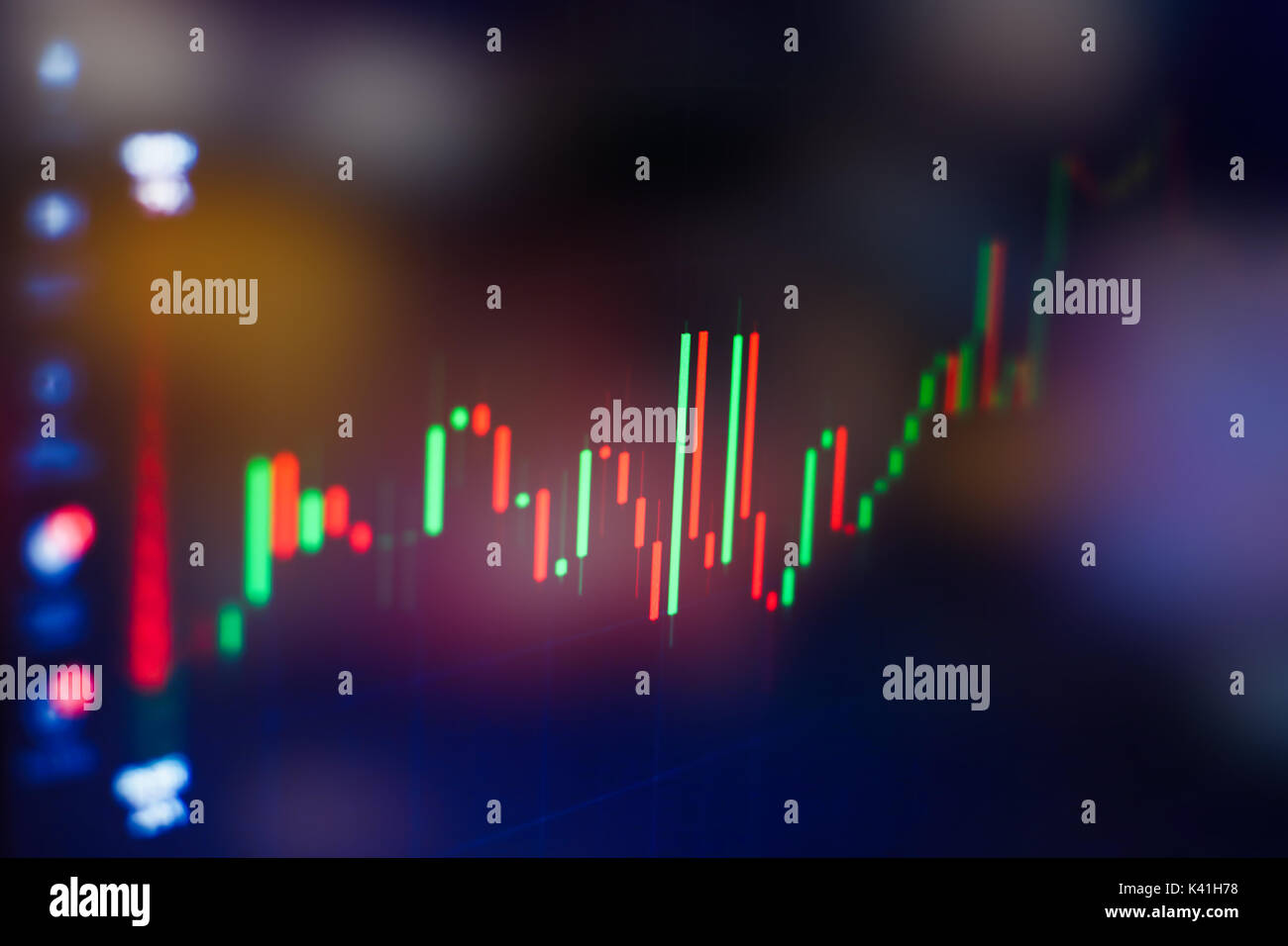 Forex trading stock images
