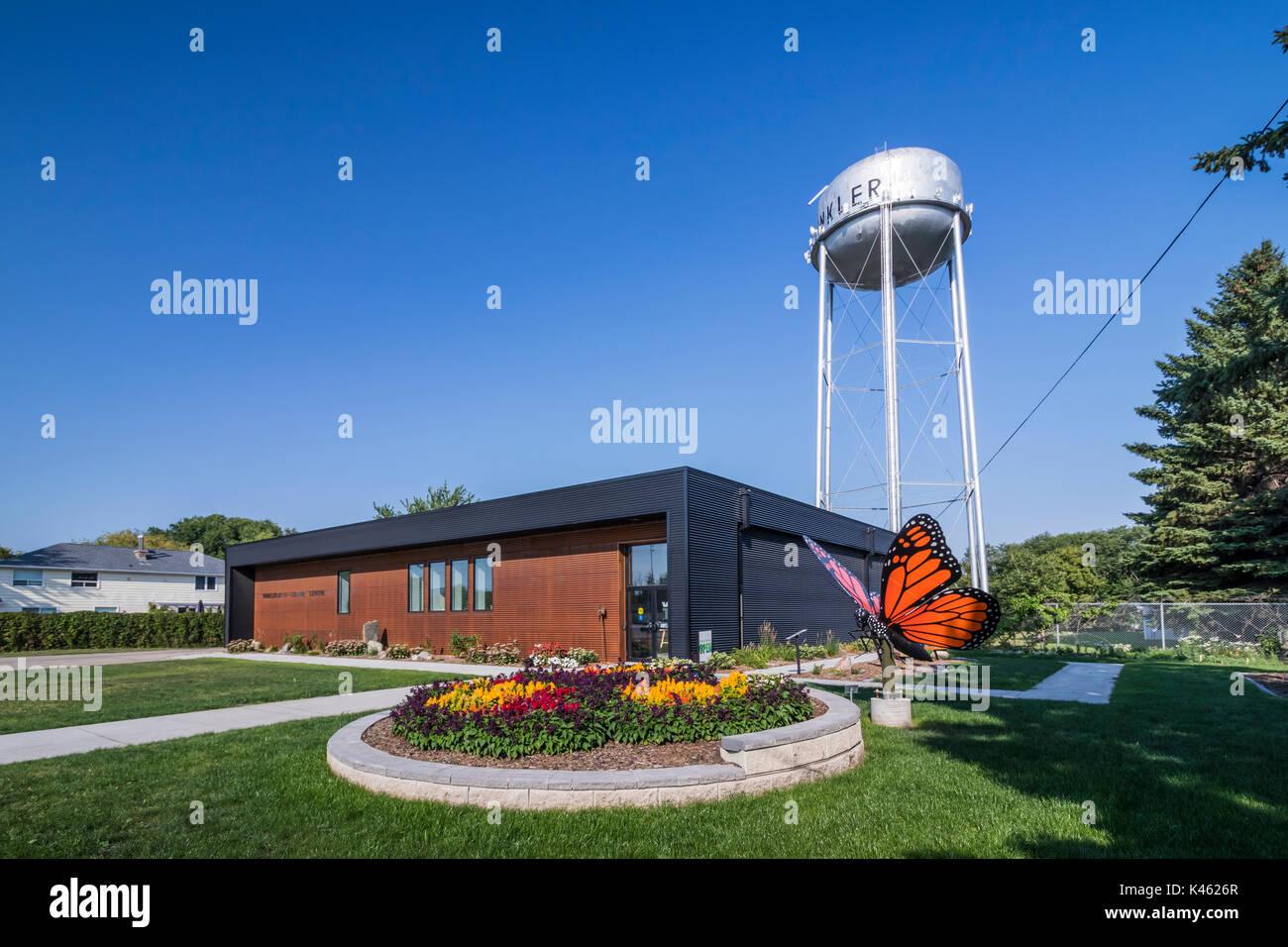Giant Wall Murals Butterfly Building Stock Photos Amp Butterfly Building Stock
