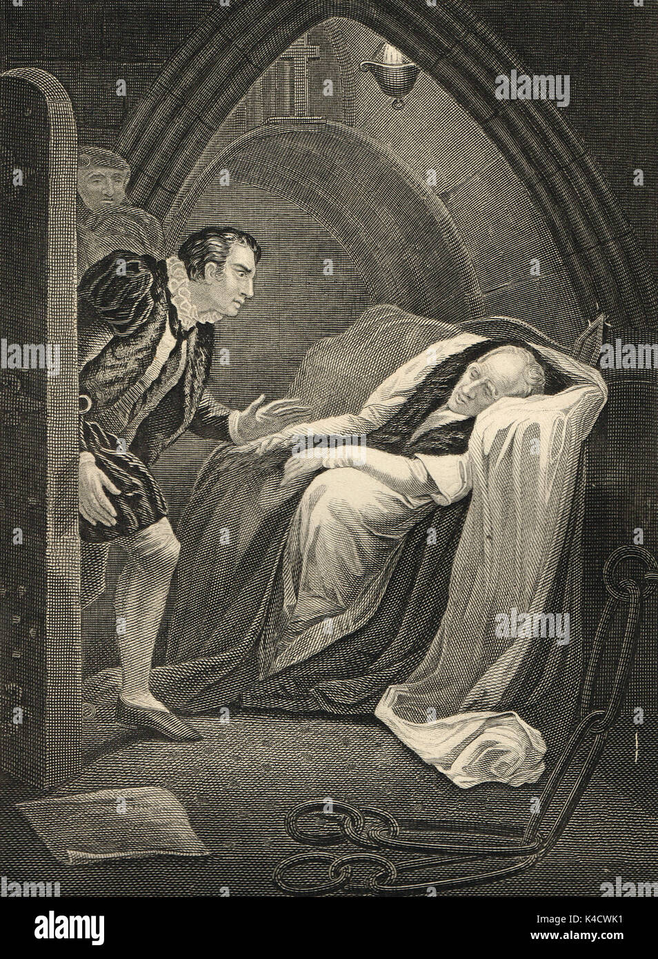 Death Of Edward ViStock Photos and Images