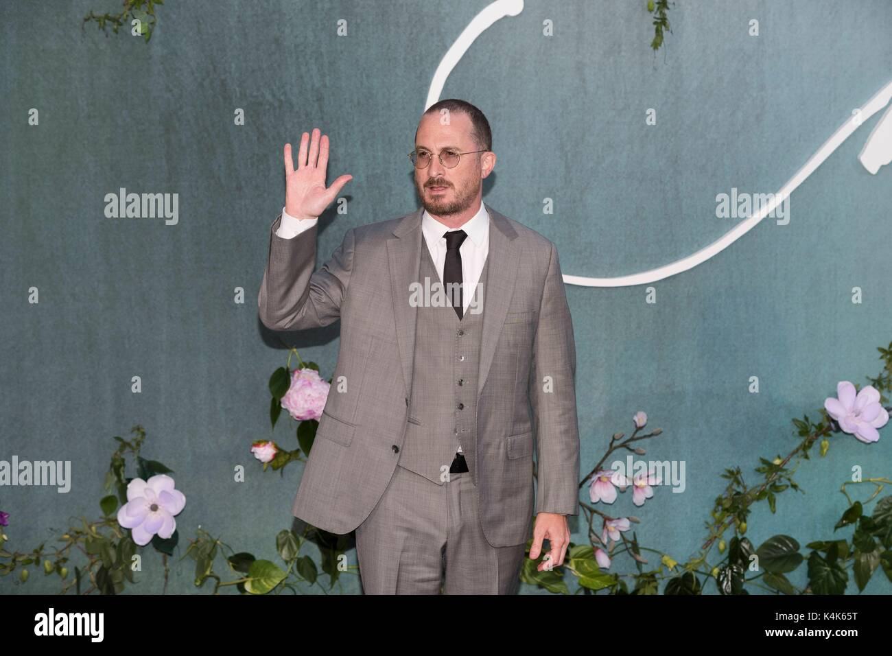 London, United Kingdom Of Great Britain And Northern Ireland. 06th Sep, 2017. Darren Aronofsky attends MOTHER! UK - Stock Image