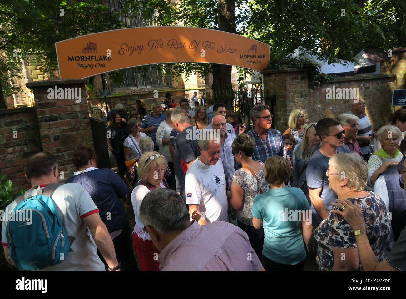 Nantwich Food Festival, Cheshire  September 2017 - Stock Image