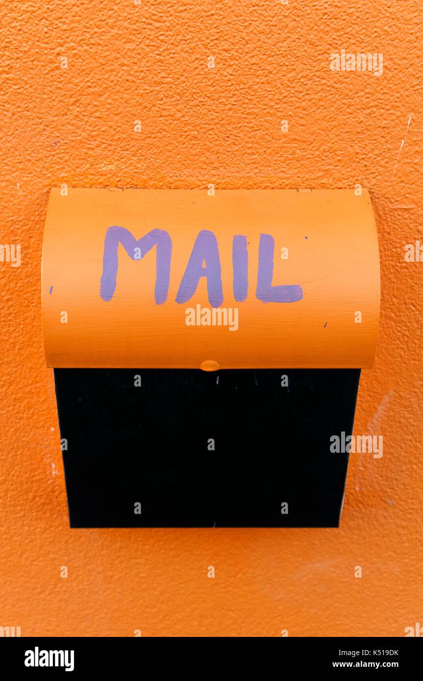 Colourful Mailbox Stock Photos Amp Colourful Mailbox Stock