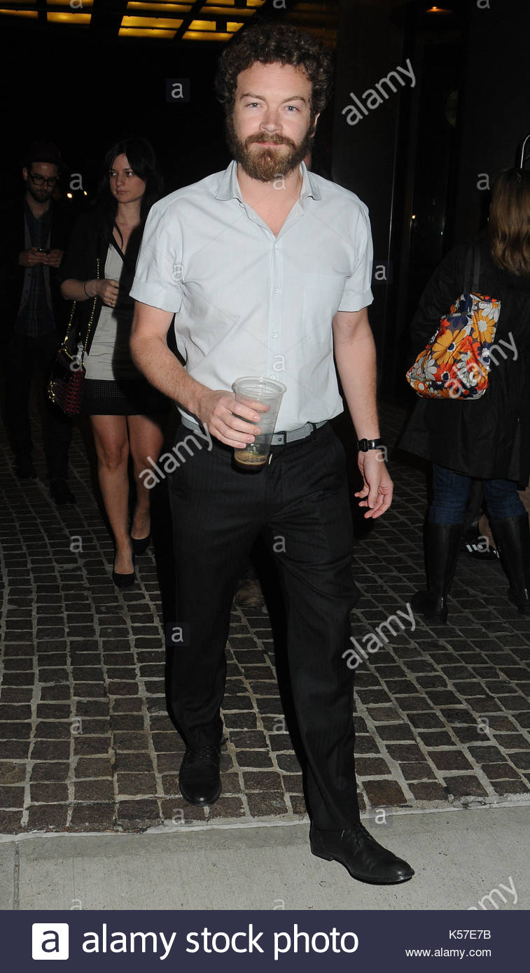 Danny Masterson. Celebrities out and about in Tribeca, NYC. - Stock Image