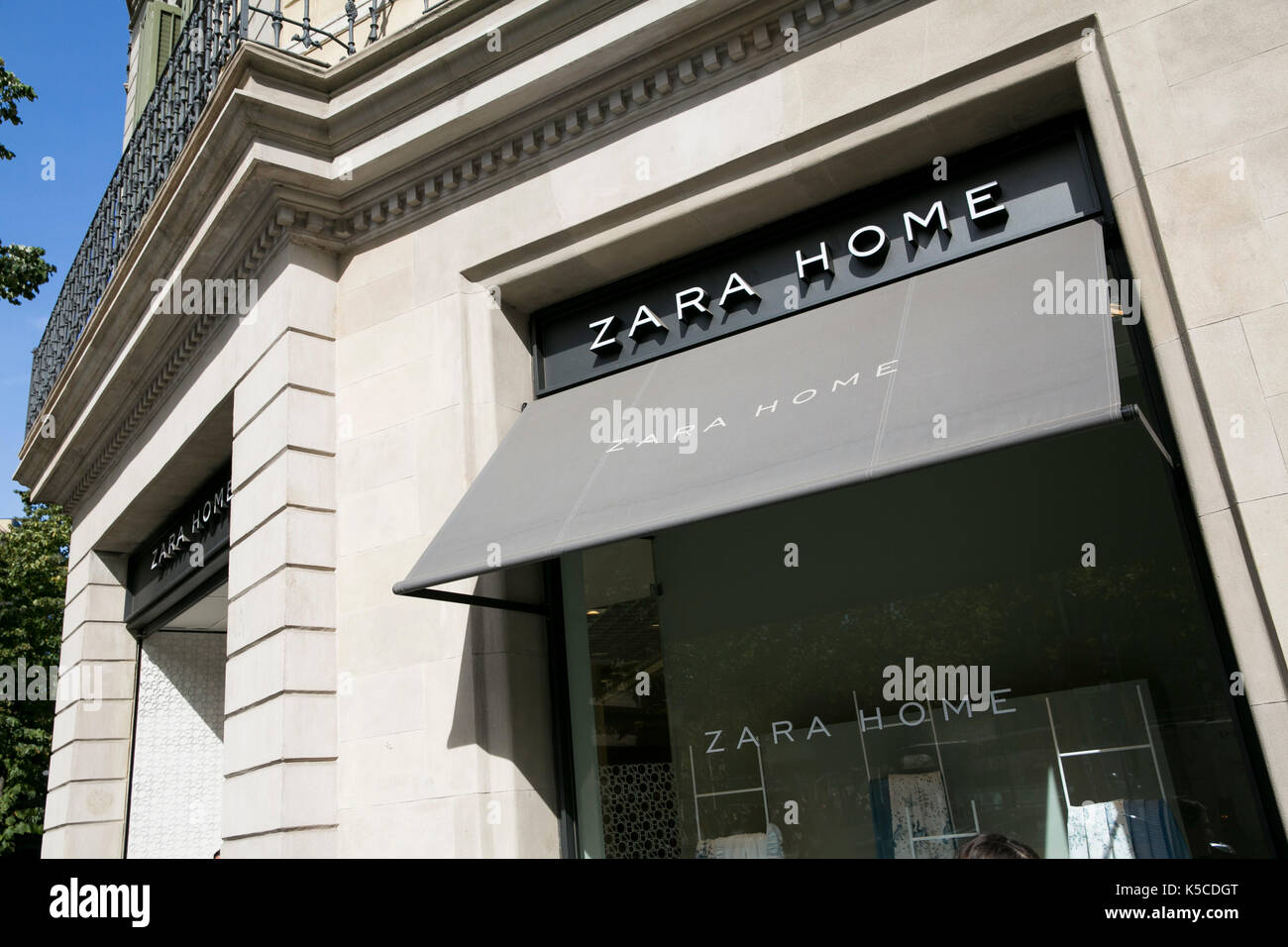 zara home stock photos zara home stock images alamy. Black Bedroom Furniture Sets. Home Design Ideas