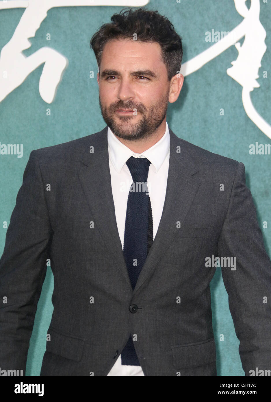 LONDON - SEP 06, 2017: Levison Wood attends the Mother UK film premiere at Odeon Leicester Square in London - Stock Image