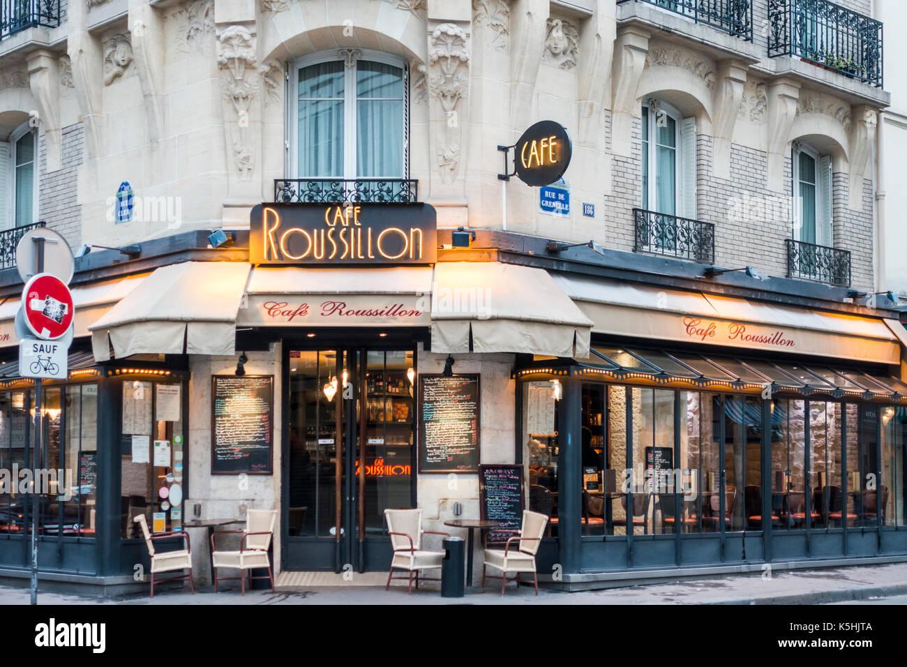 Caf  Rue Nationale Paris