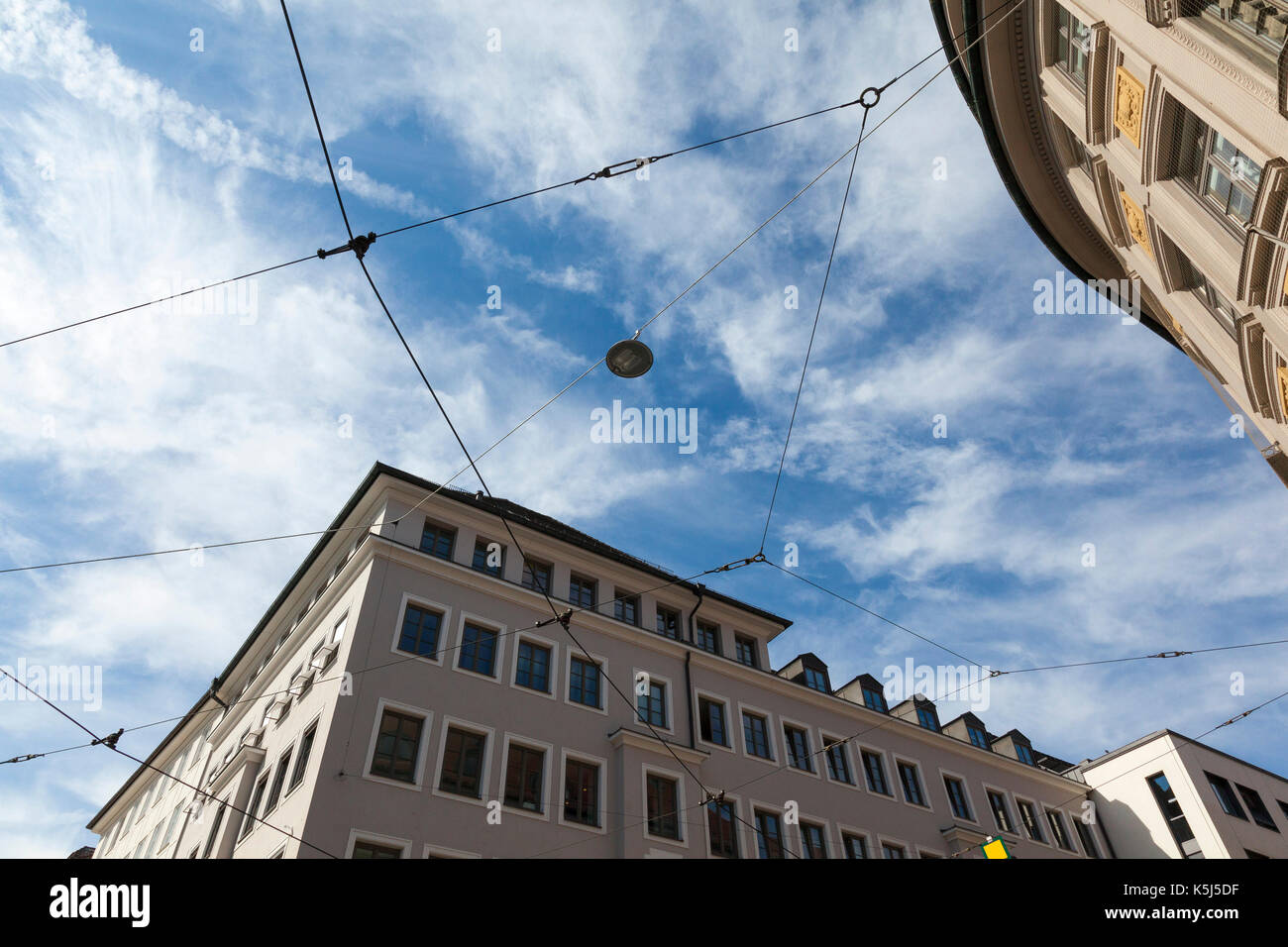Roofs of Munich - Stock Image
