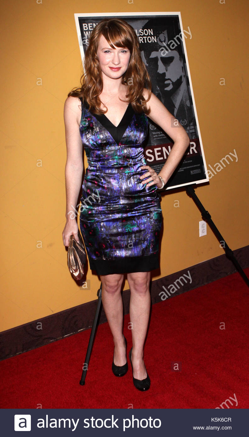 Halley Feiffer. 'The Messenger' premiere celebrity arrivals in NYC. - Stock Image