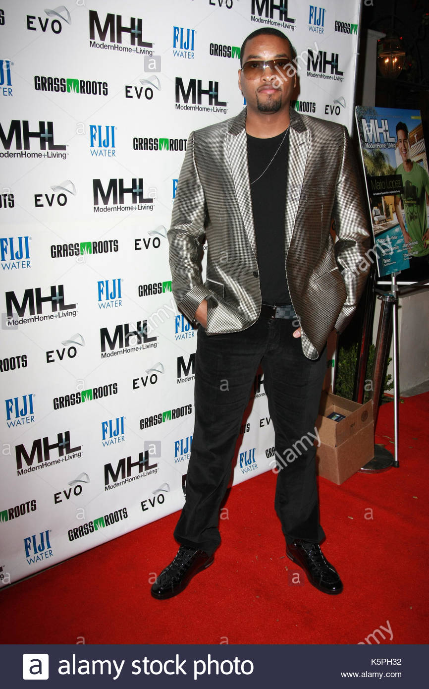Keith Harris. Celebrity arrivals for an exclusive holiday event celebrating the premiere of MH+L Magazine. Aaron - Stock Image