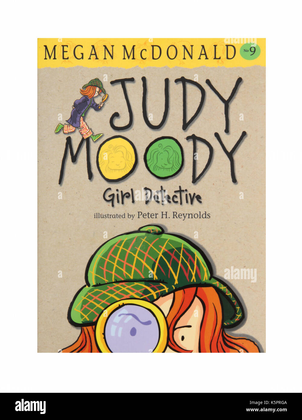 The book Judy Moody Girl Detective by Megan McDonald - Stock Image