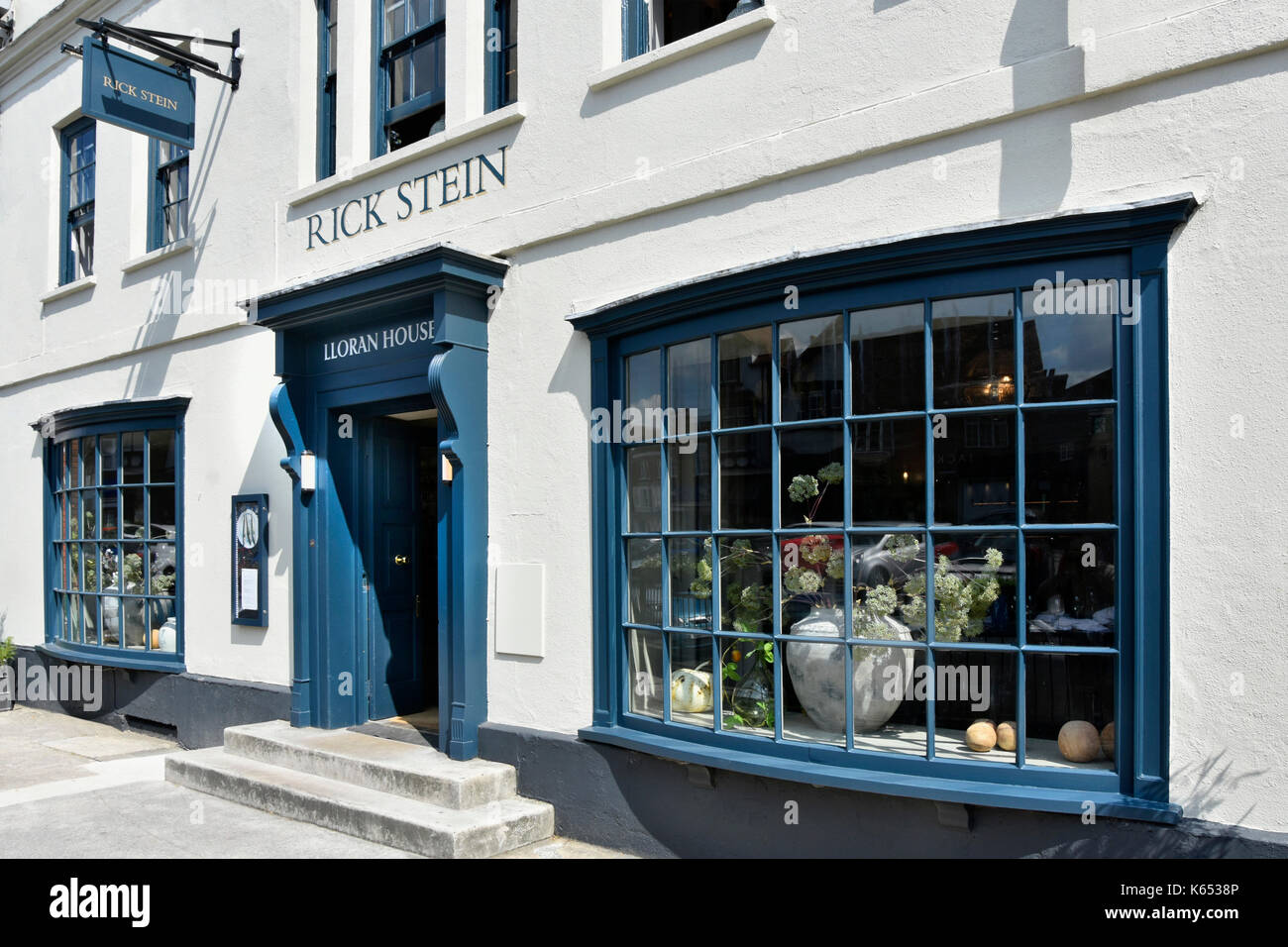 Rick stein fish and seafood restaurant front elevation for Rick s fish and pet