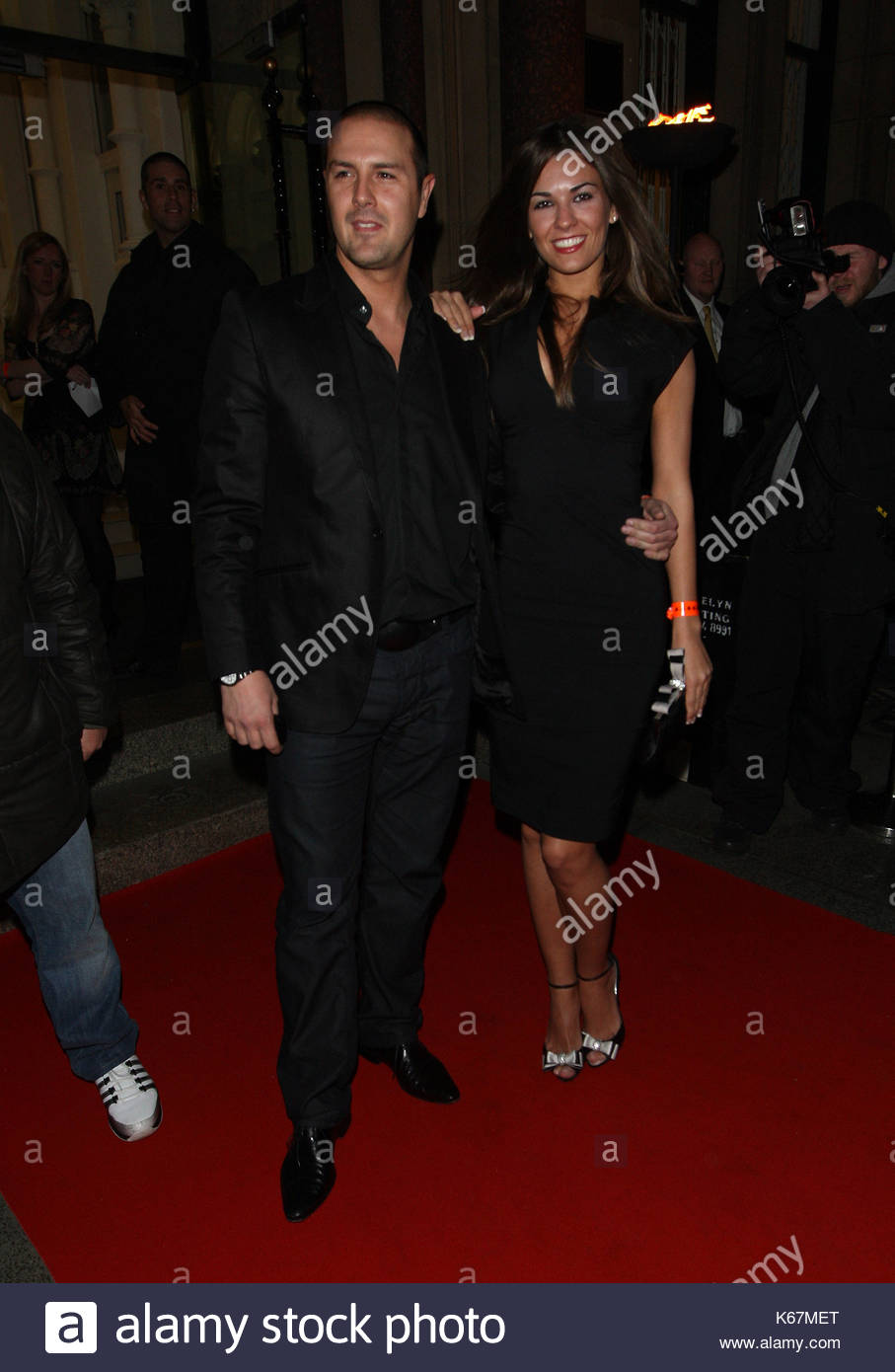 Paddy McGuinness. Celebs at the opening night of the Queen musical 'We Will Rock You' at the Palace Theatre - Stock Image