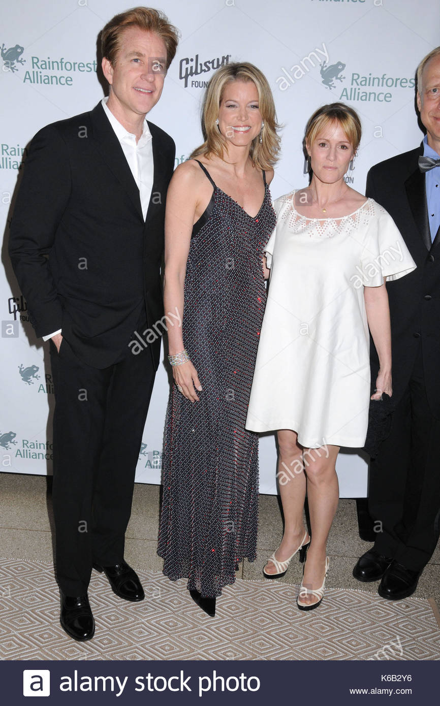 Matthew Modine, Paula Zahn and Mary Stuart Masterson. Celebrities from the news and entertainment industries lend Stock Photo